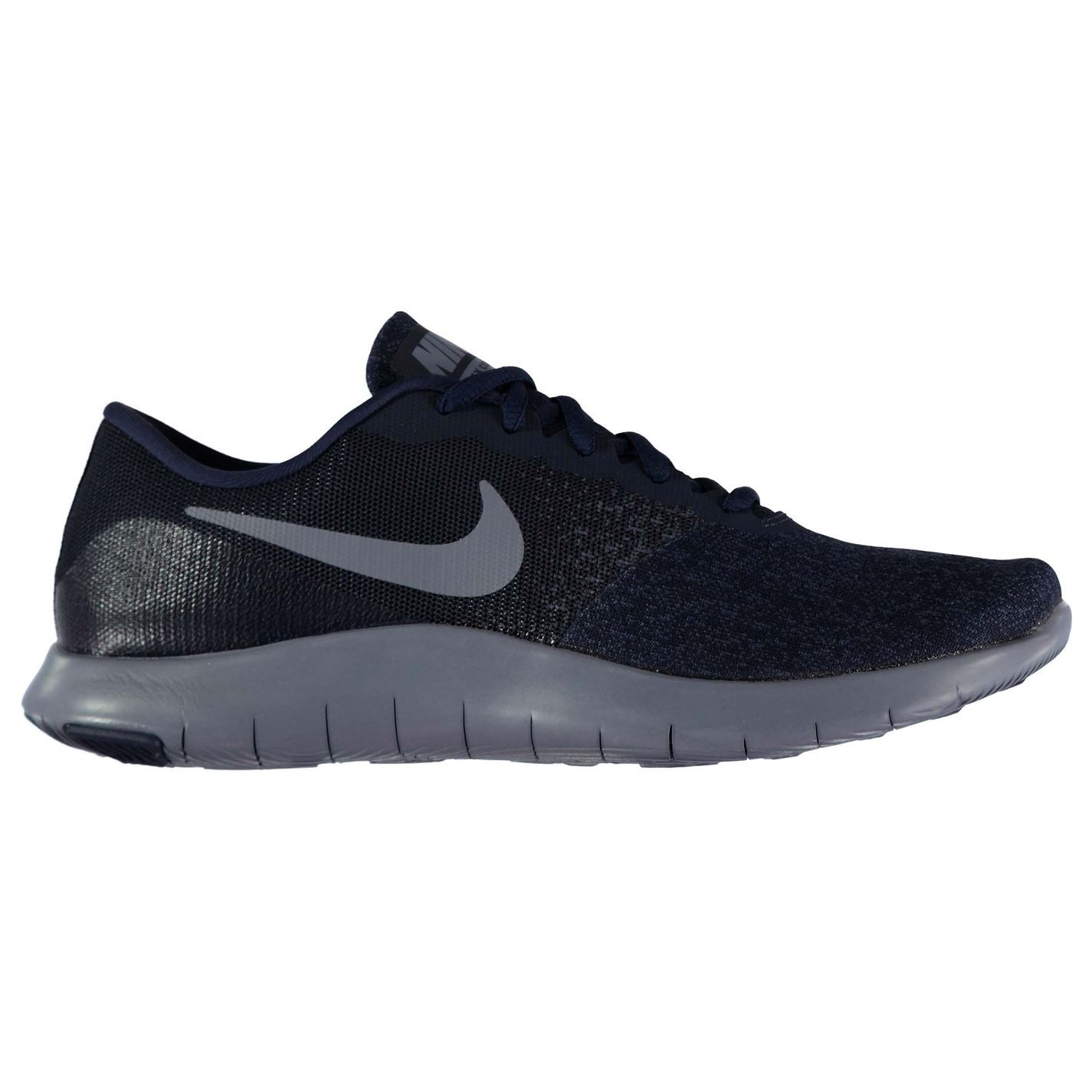 16651cefb41a0 ... Nike Flex Contact Running Shoes Mens Navy Blue Jogging Trainers  Sneakers ...