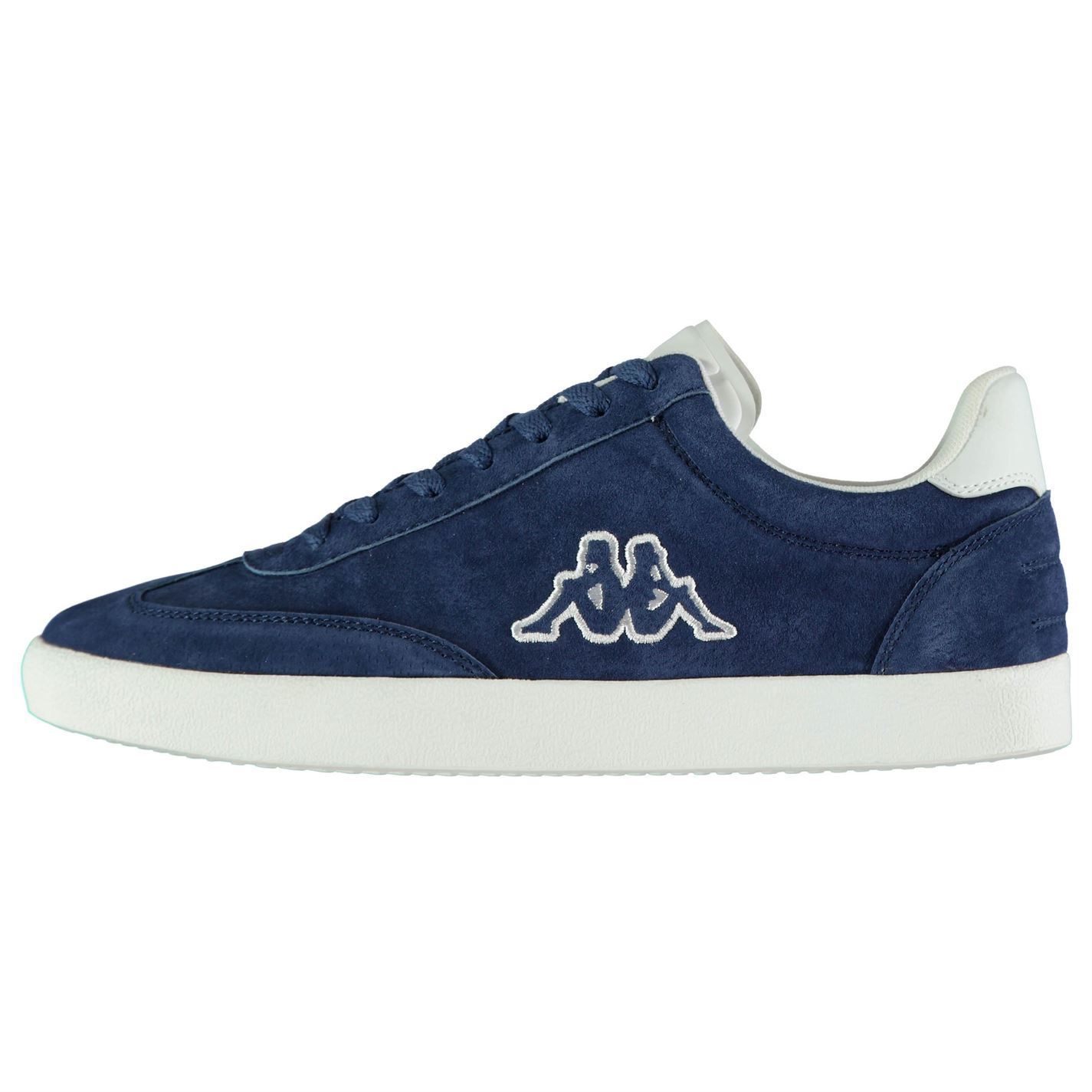 new products bc359 73a09 Details about Kappa Collin Leather Trainers Mens Athleisure Footwear Shoes  Sneakers