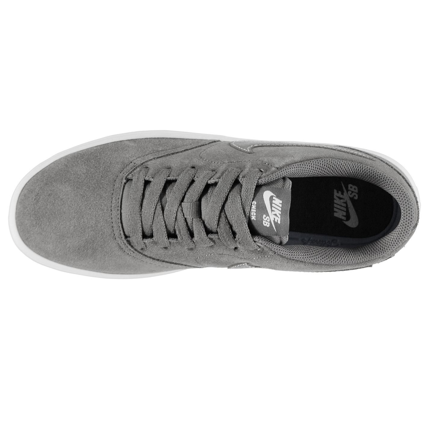 aced45b81a79 Nike SB Check Solar Skate Shoes Mens DkGrey Grey Trainers Footwear ...