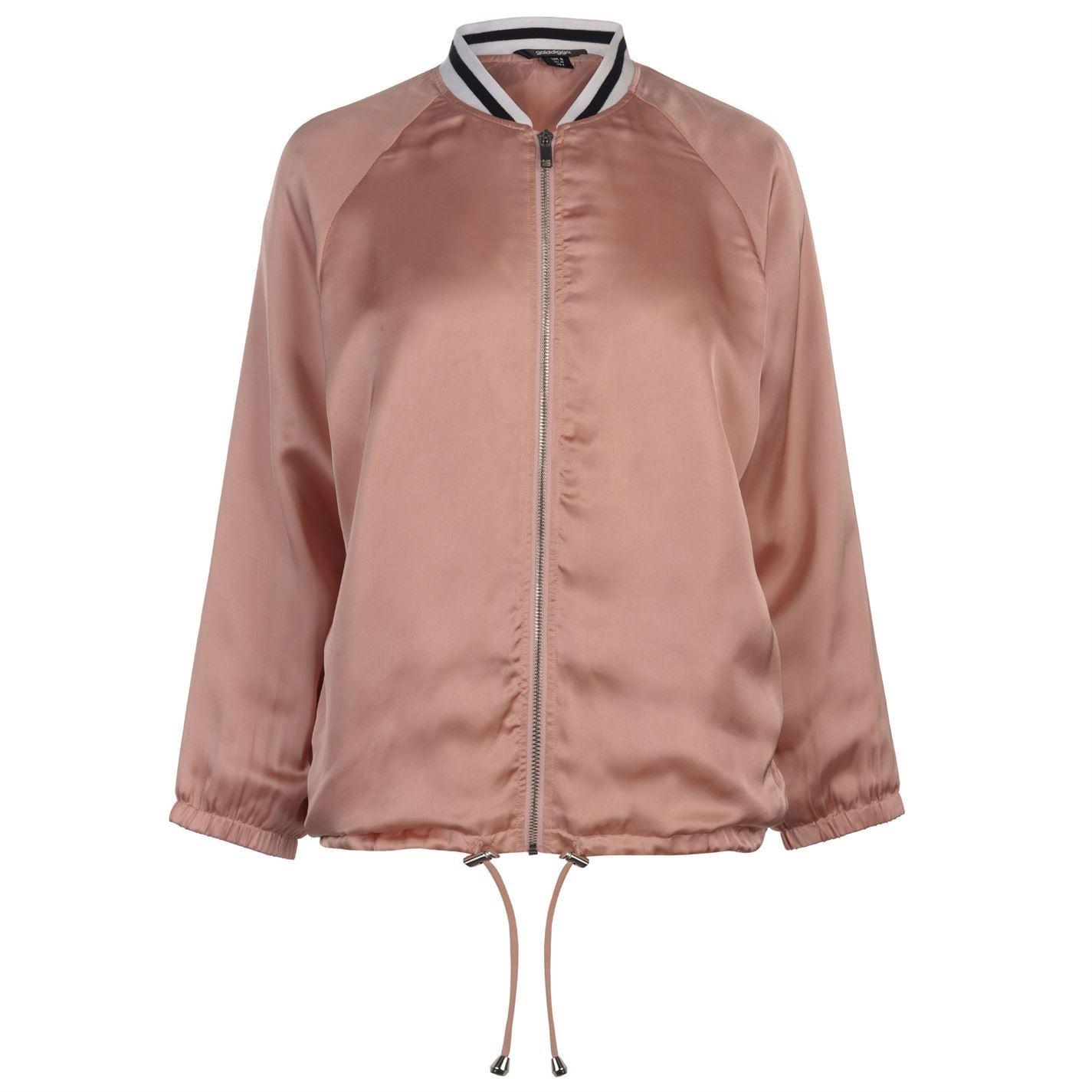 Golddigga-Bomber-Jacket-Womens-Coats-Outerwear thumbnail 8