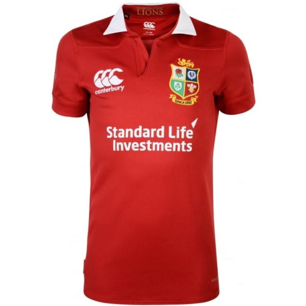 fdeed2a1 Details about Canterbury British & Irish Lions Vaposhield Match Day Pro  Rugby Jersey Juniors