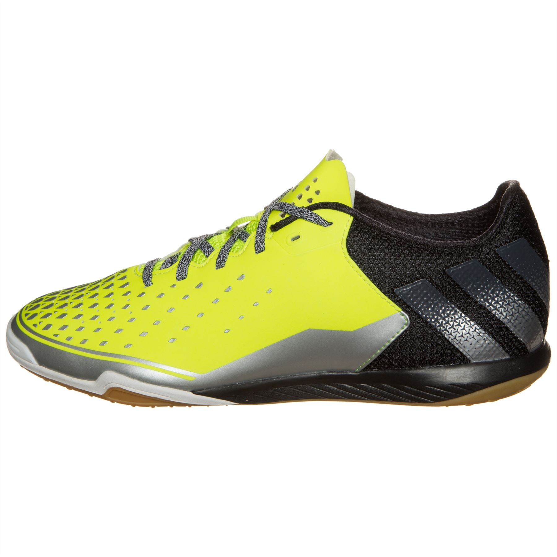 37cd5d0f657 ... adidas Ace 16.2 Court Indoor Football Shoes Mens Yel Blk Futsal Soccer  Trainers