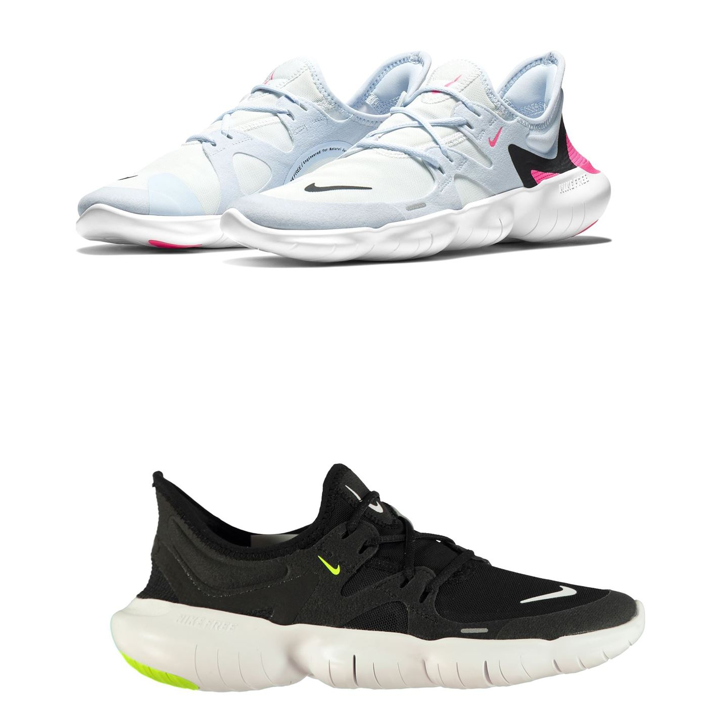 online store 19fa0 738cc Details about Nike Free Run 5.0 Womens Running Shoes Trainers Ladies  Athleisure Sneakers