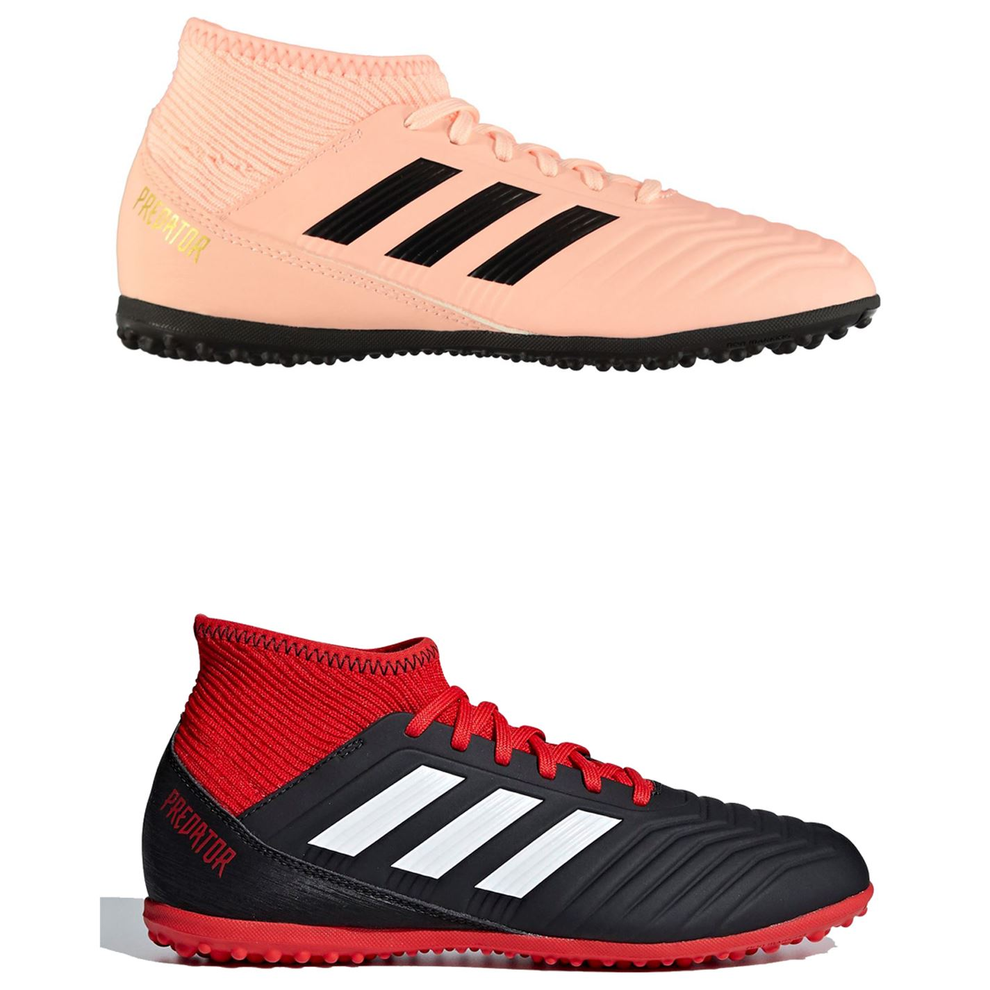 cd963dcf5742 ... adidas Predator Tango 18.3 Astro Turf Football Trainers Childs Soccer  Shoes ...