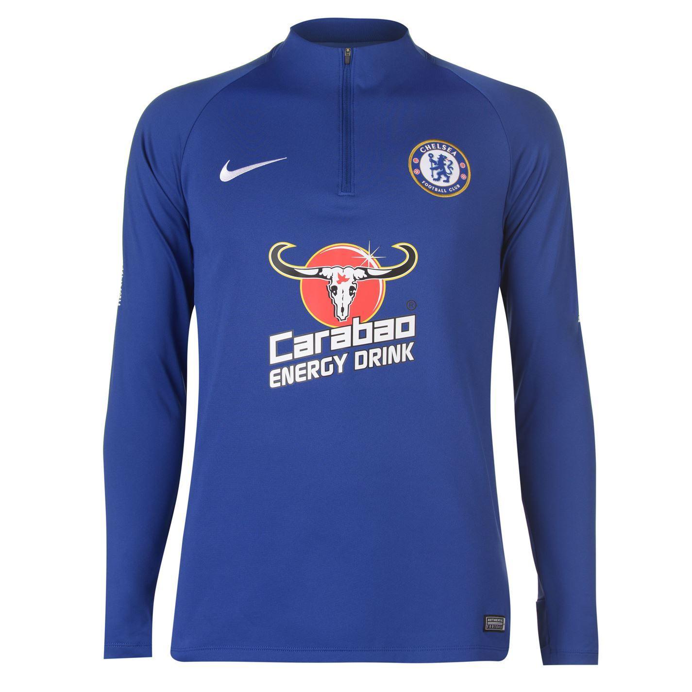 7d985efbd1d Nike Chelsea Squad Drill Top 2018 2019 Mens Football Soccer ...