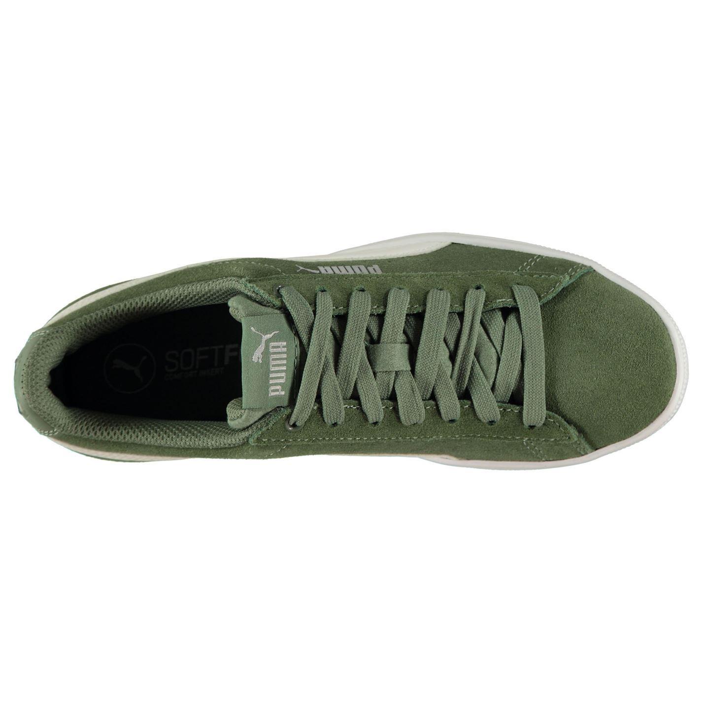 zapatillas mujer puma verde