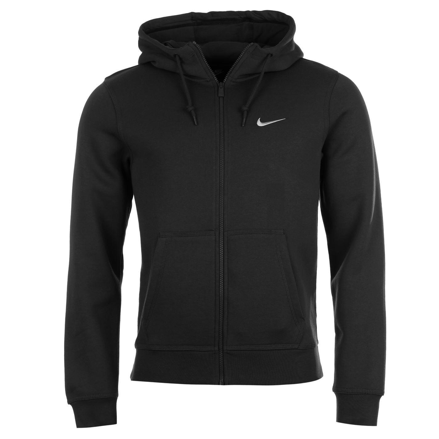9faef9bbc0f5 Nike Fundamentals Full Zip Hoody Jacket Mens Hoodie Sweatshirt Sweater Top