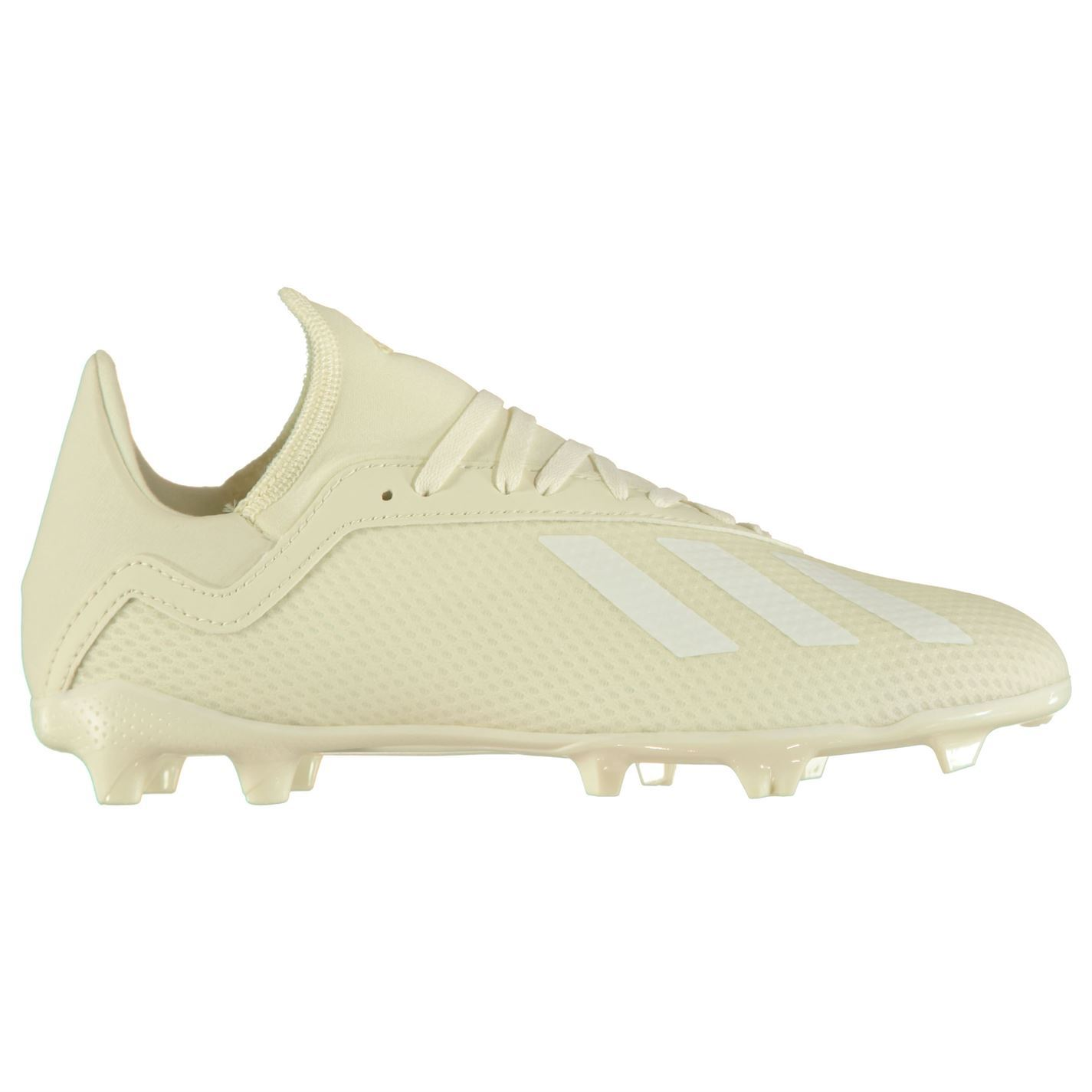 38a15c27c41 ... adidas X 18.3 FG Firm Ground Football Boots Juniors Soccer Shoes Cleats