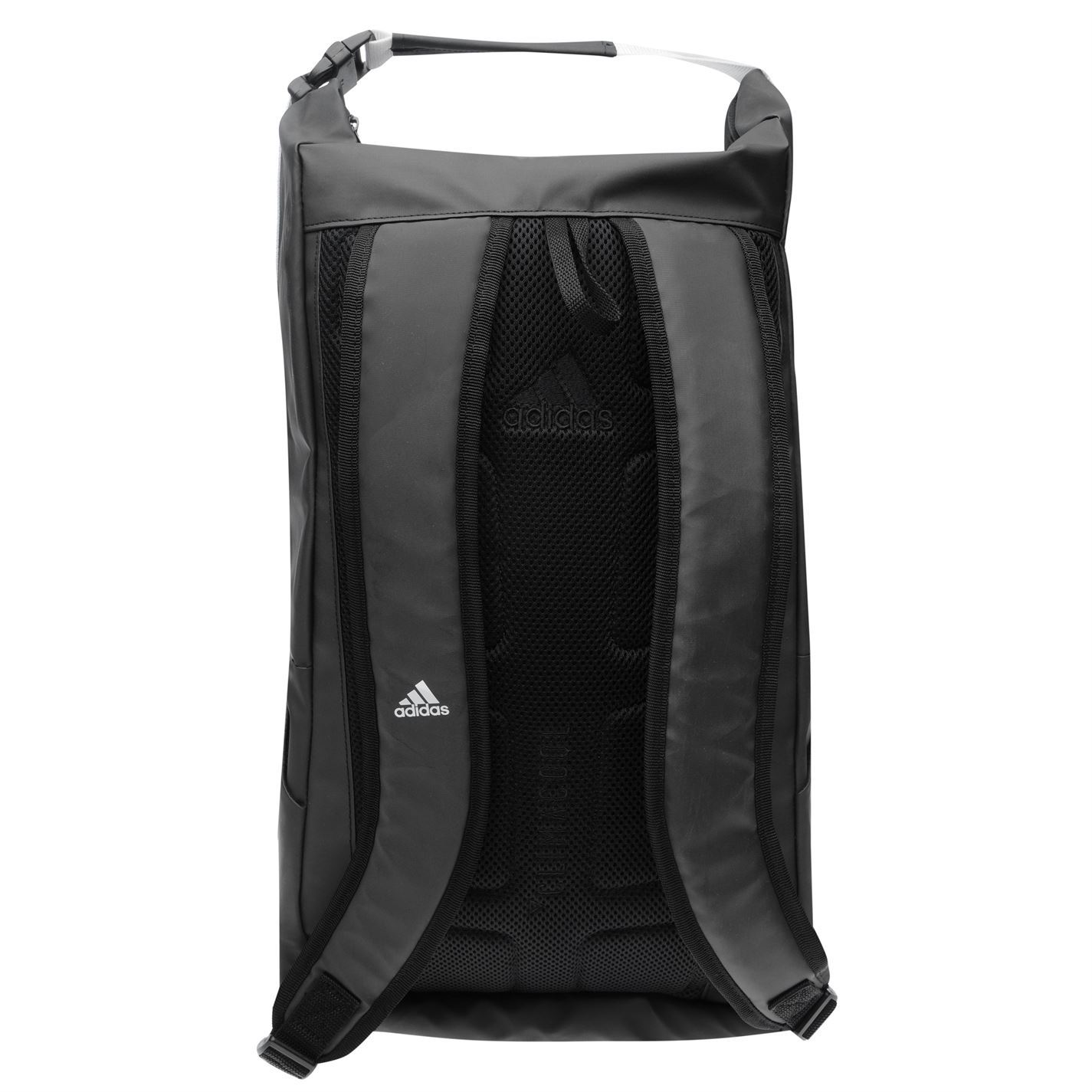 99748587a999 ... adidas Athletic ID Backpack Black White Sports Gym Bag Rucksack Carryall