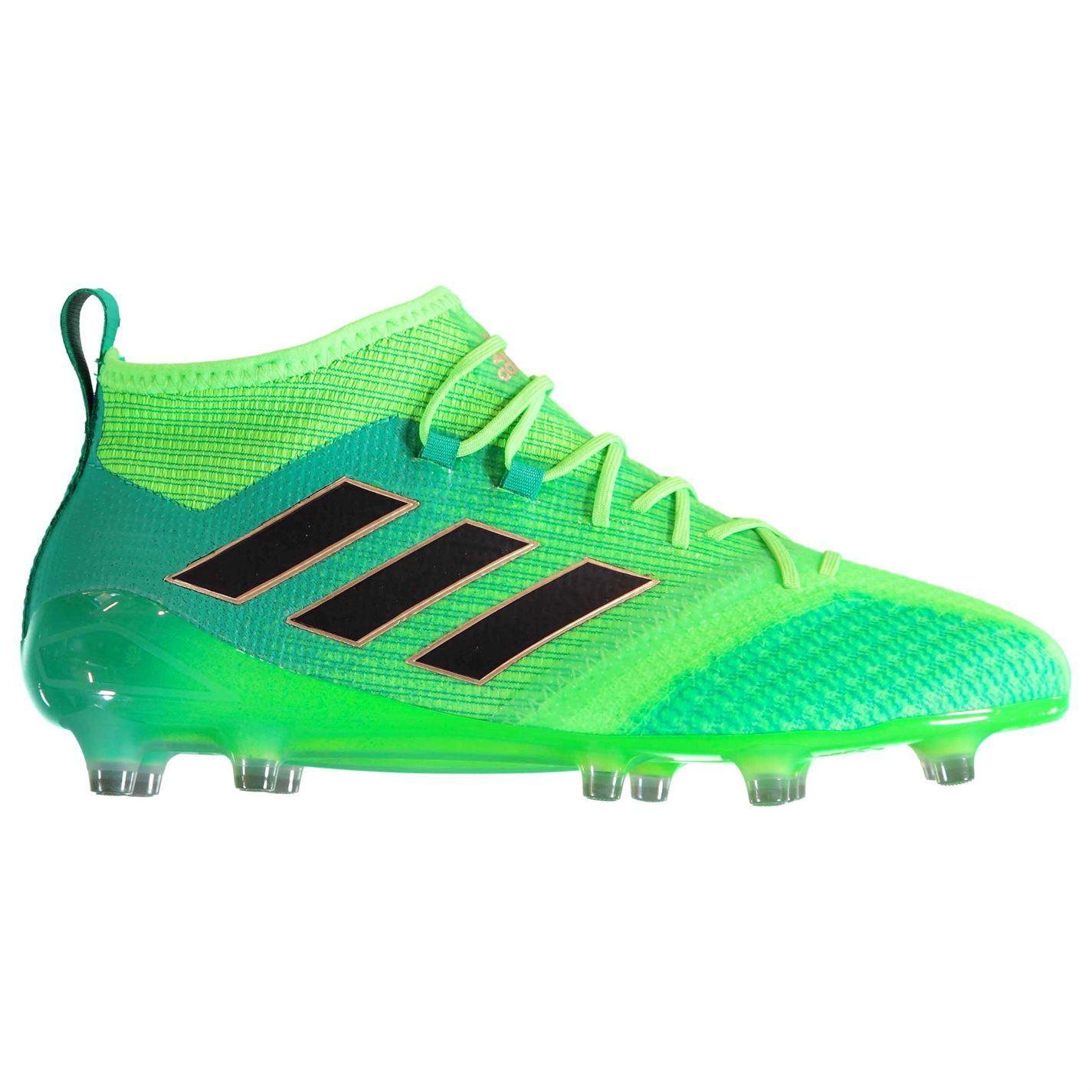 ... adidas Ace 17.1 Primeknit Firm Ground Football Boots Mens Green Soccer  Cleats ... f536cd3bbdb9b