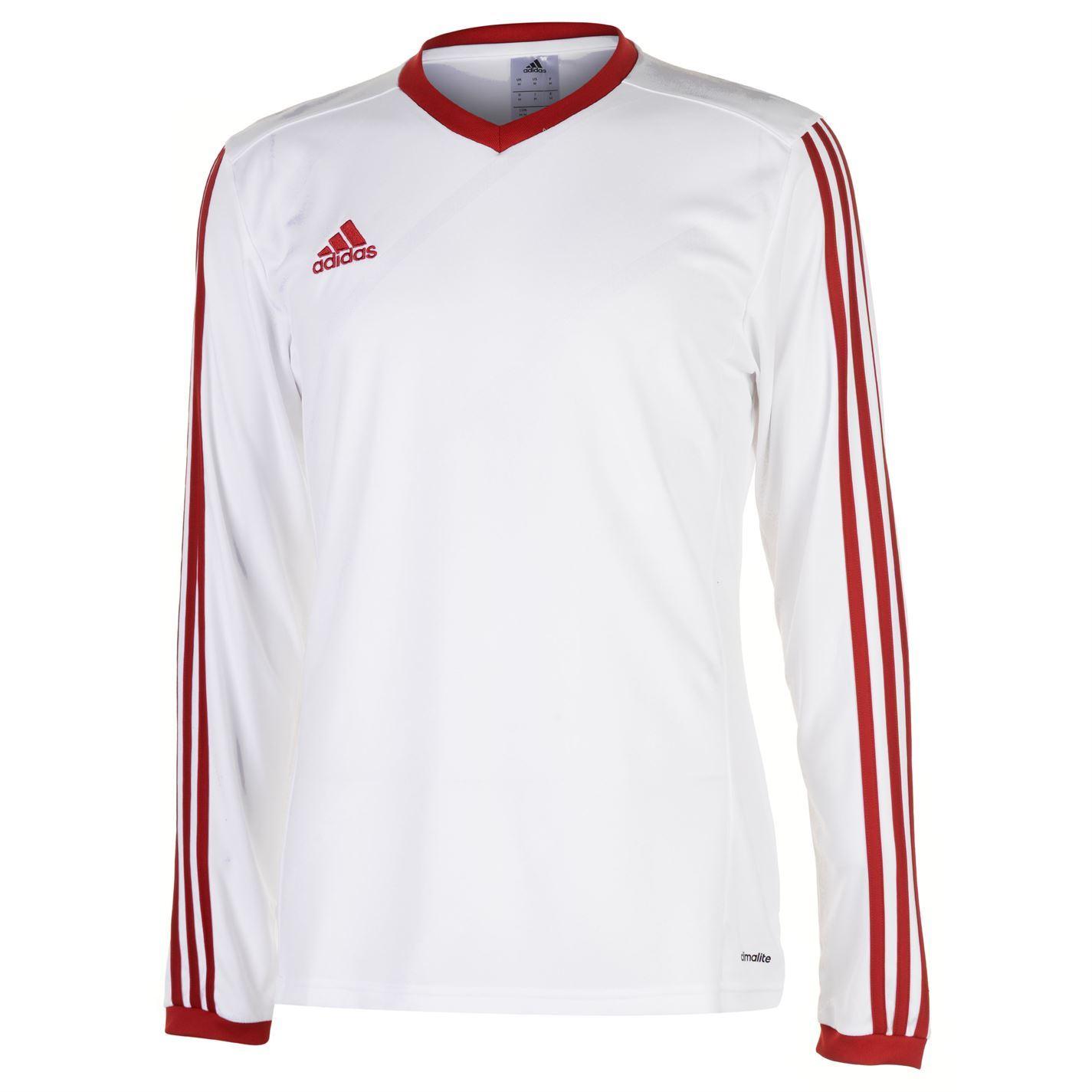 adidas Mens Tabela 14 Long Sleeve Jersey Training Shirts