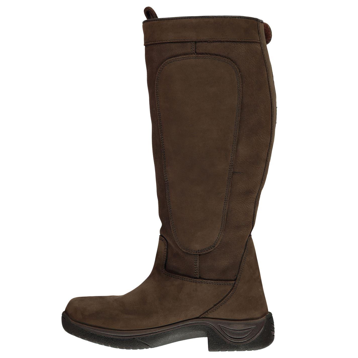 Dublin Pinnacle Boots II Chocolate Ladies 6