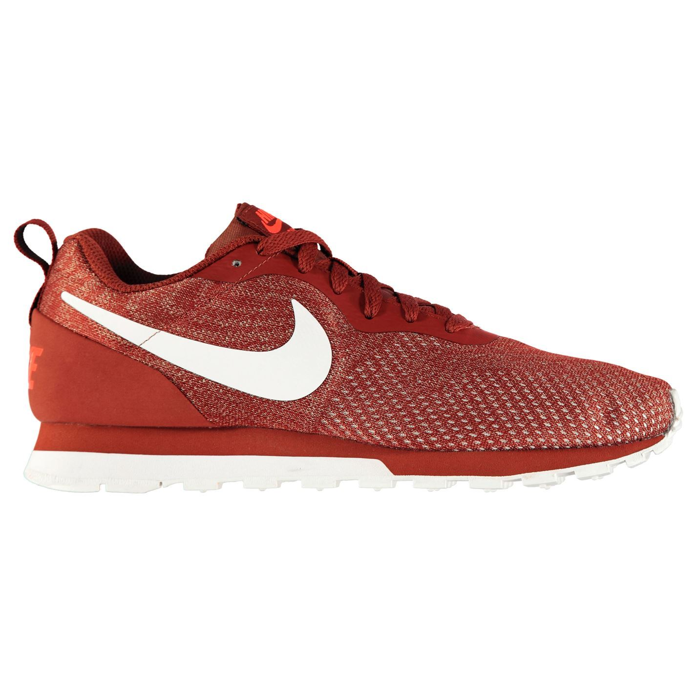 Details zu Nike MD Runner 2 Eng Running Shoes Mens Red Fitness Jogging Trainers Sneakers
