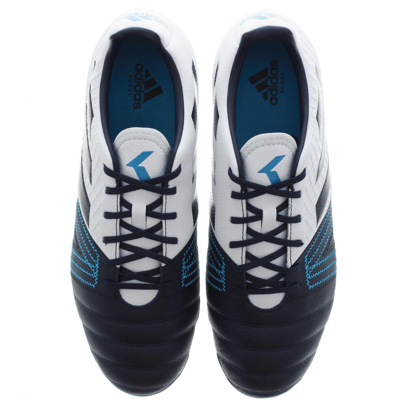 052efc1e ... Adidas Kakari Elite SG para hombre Rugby Unión botas azul zapatillas  calzado