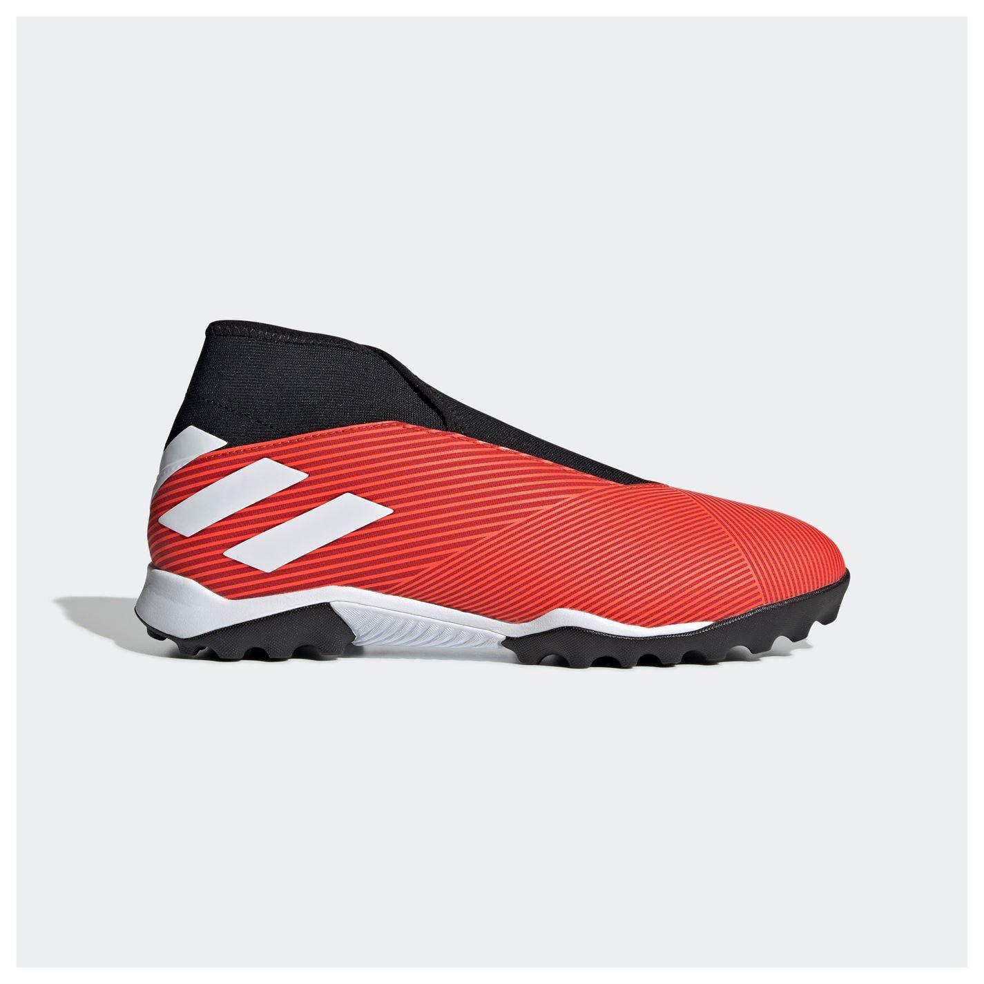 adidas Nemeziz 19.3 Laceless Astro Turf Football Shoes Mens Soccer ...