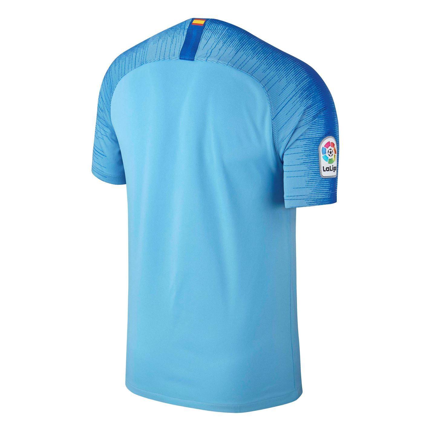 d1166d98b ... Nike Atletico Madrid Away Jersey 2018 2019 Mens Blue Football Soccer  Shirt Top ...