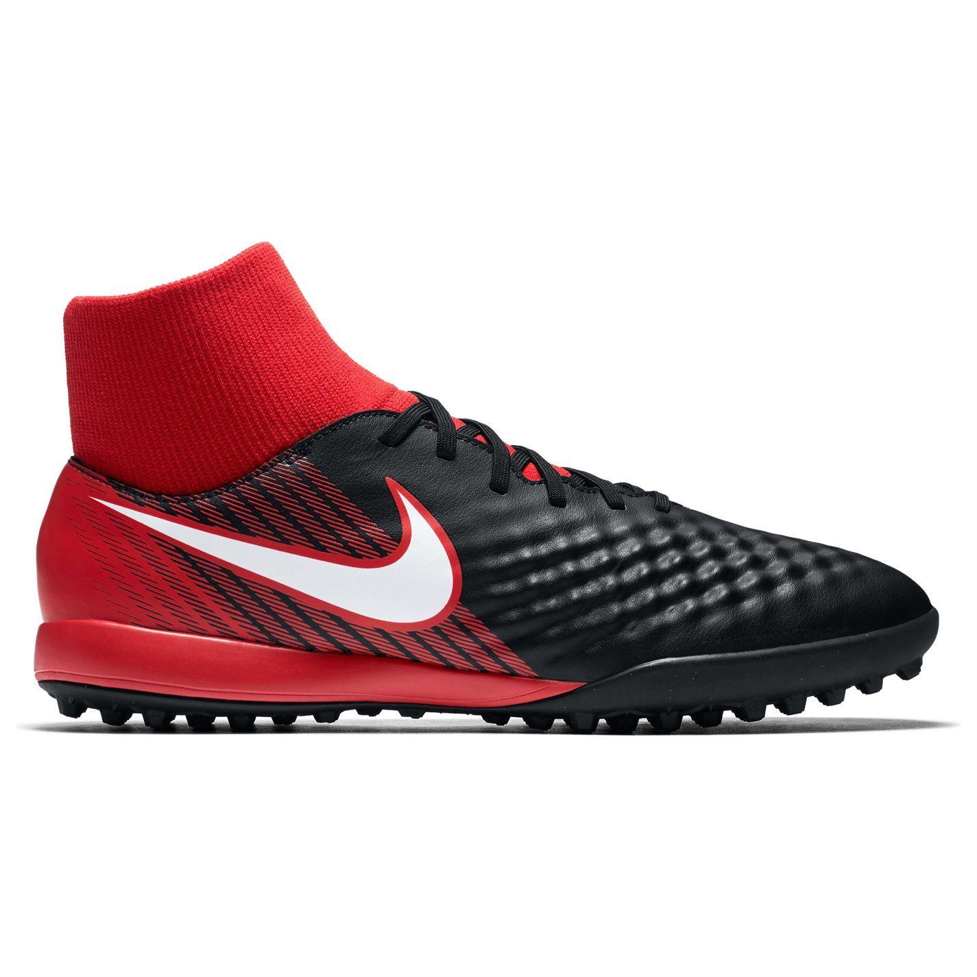 757e61b3b ... Nike Magista Onda DF Astro Turf Football Trainers Mens Black Red Soccer  Shoes ...