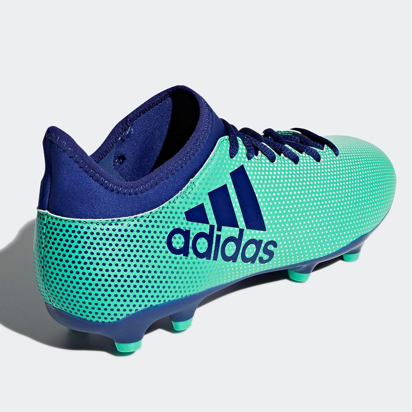 official photos bd68b 31820 ADIDAS X 17.3 FG Firm Ground Football Boots Mens Green/Ink Soccer Shoes  Cleats