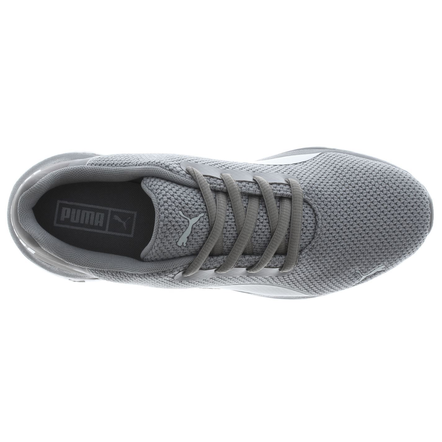 15c84a97d46 ... Puma Cell Ultimate Trainers Mens Grey Sports Shoes Sneakers
