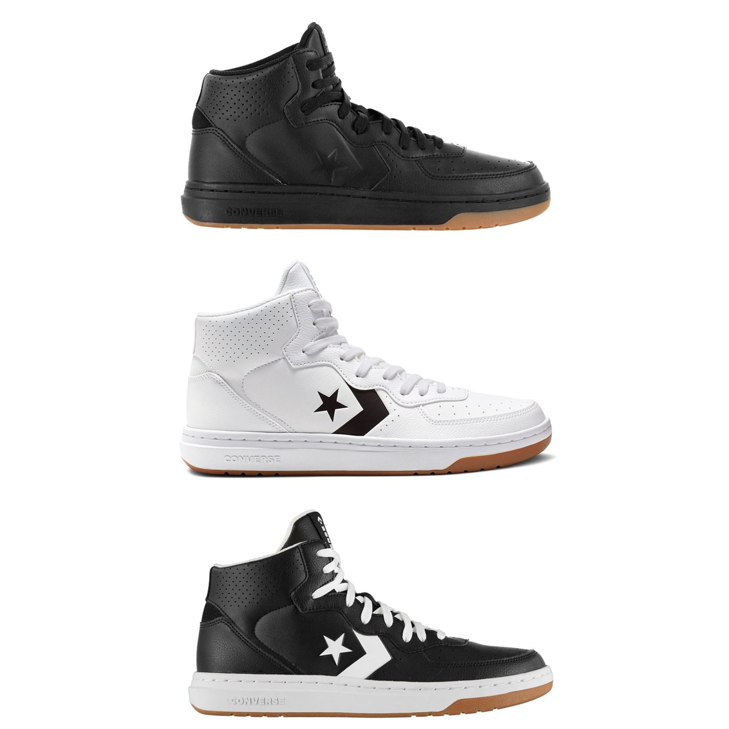 Converse Rival Mid Top Trainers Mens