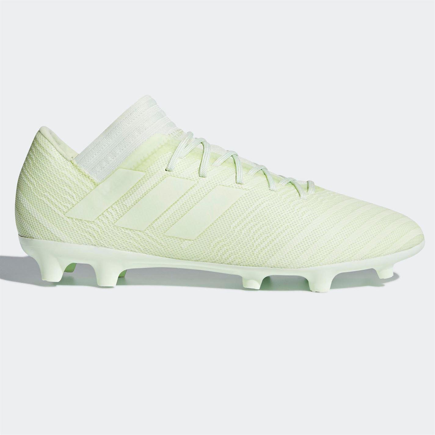 ... adidas Nemeziz 17.3 FG Firm Ground Football Boots Mens Green Soccer  Shoes Cleats ... c63e7650bd461