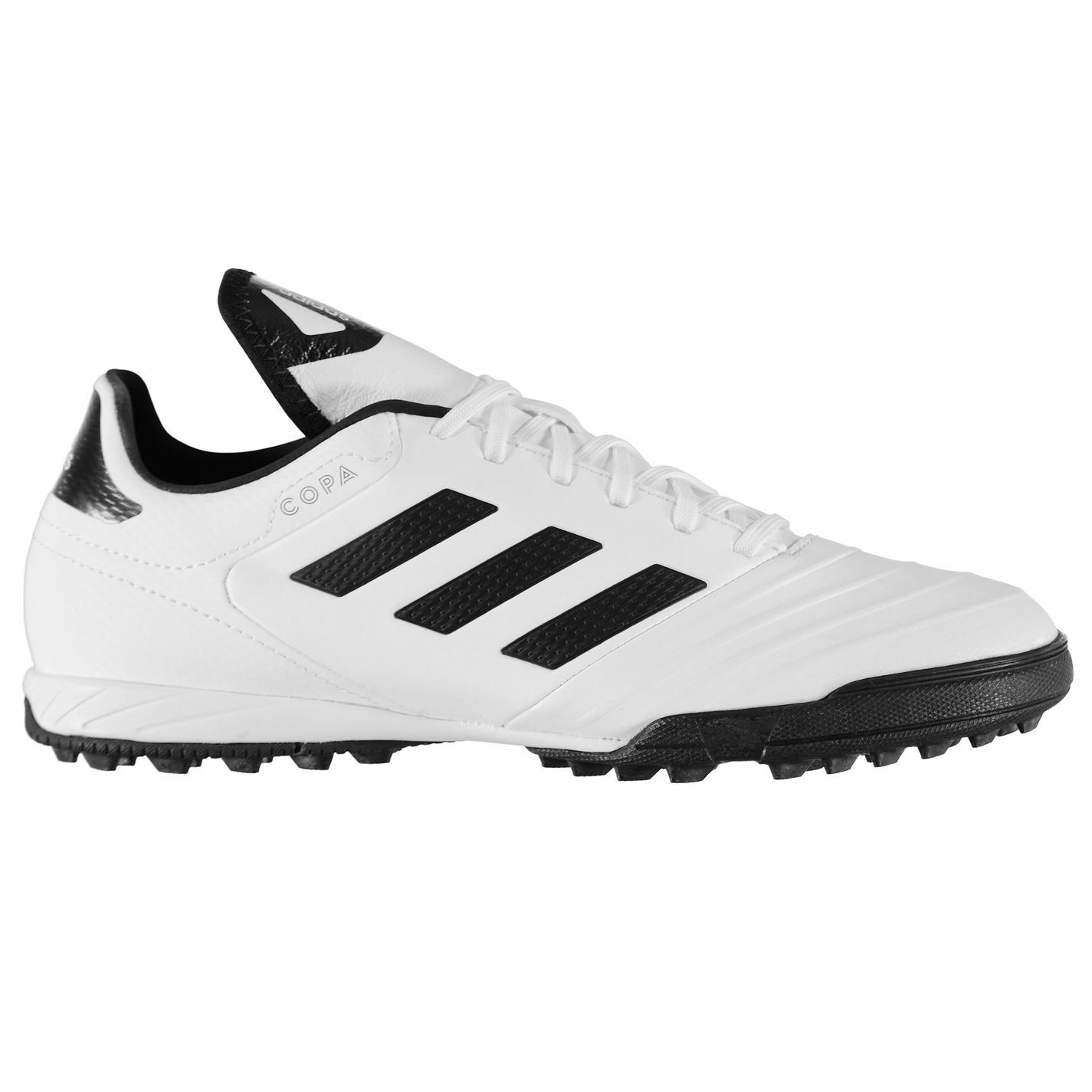 meet 1fae9 574ad ... adidas Copa Tango 18.3 Astro Turf Football Trainers Mens White Soccer  Shoes ...