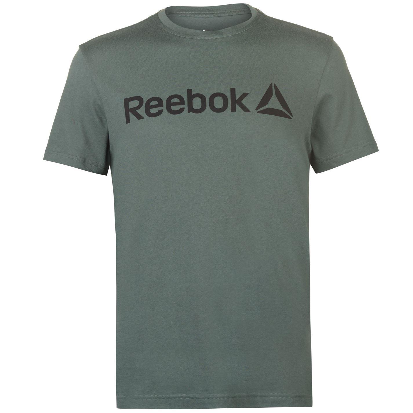 Reebok-Delta-Logo-T-Shirt-Mens-Tee-Shirt-Top thumbnail 18