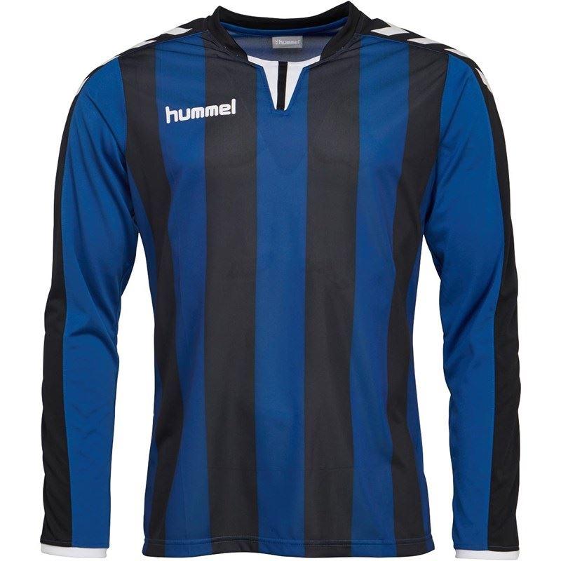 thumbnail 7 - Hummel-Long-Sleeve-Football-Shirt-Mens-Soccer-Jersey-Top-T-Shirt