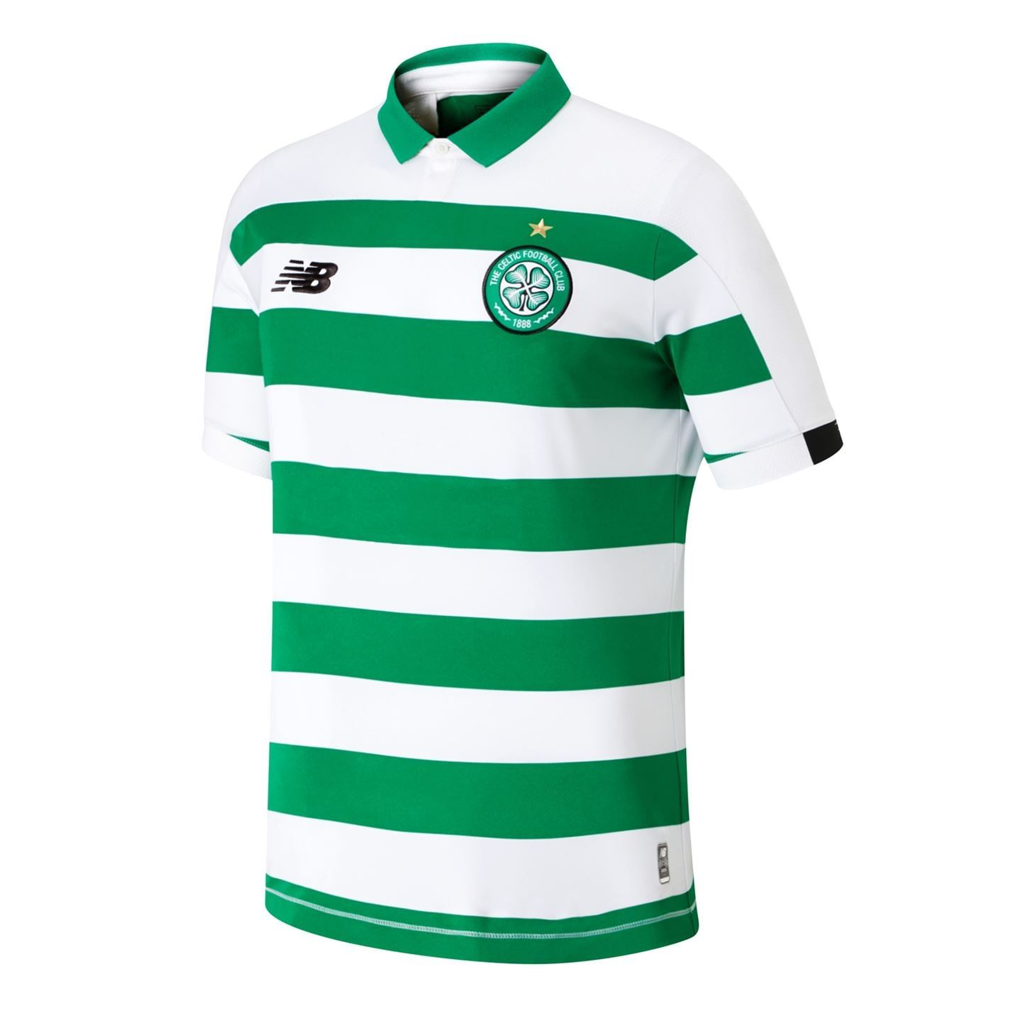 NEW Balance Ufficiale Da Uomo Celtic FC HOME FOOTBALL SHORTS Bottoms 2019-20