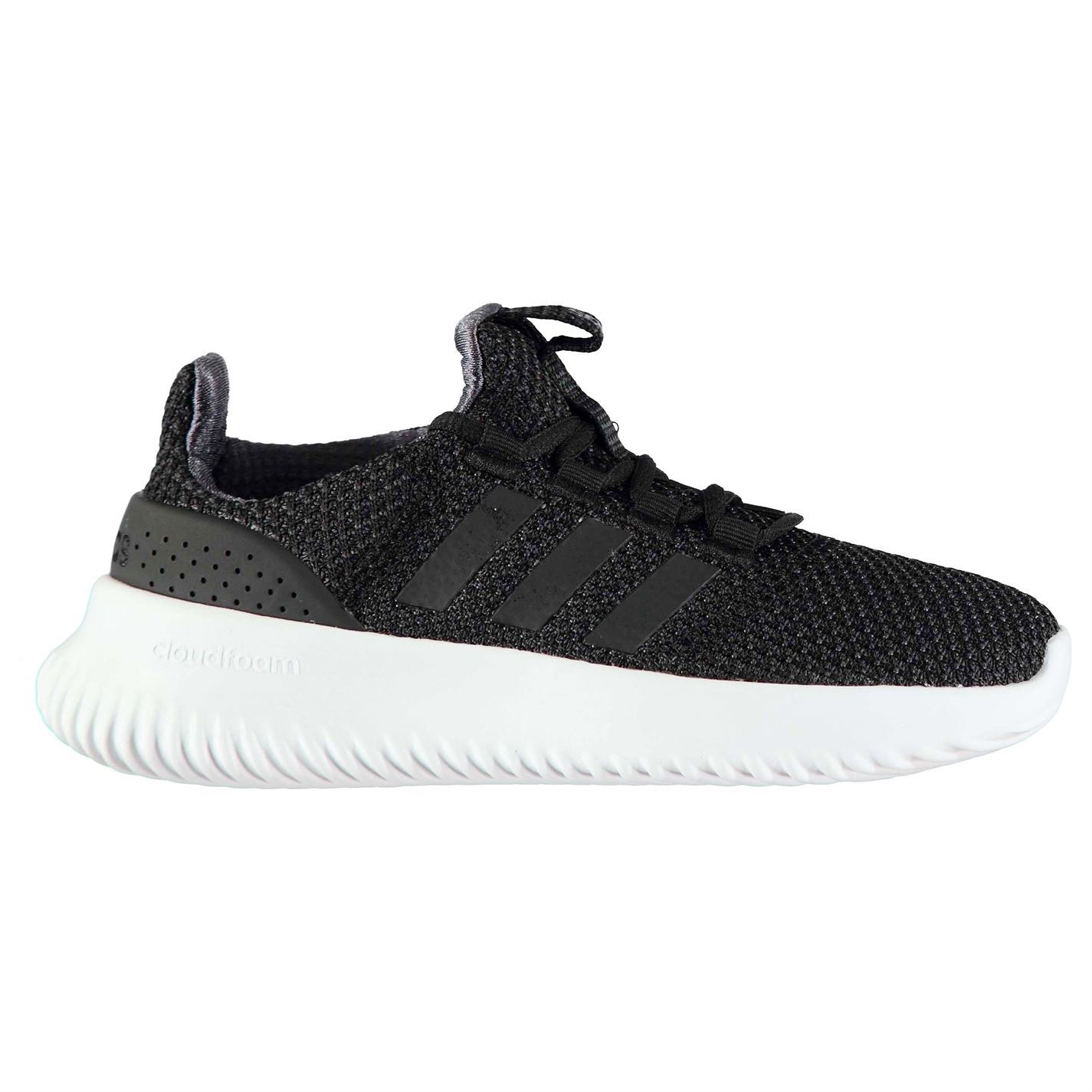 Details about adidas CloudFoam Ultimate Trainers Mens Gents Running Shoes Laces Fastened Knit
