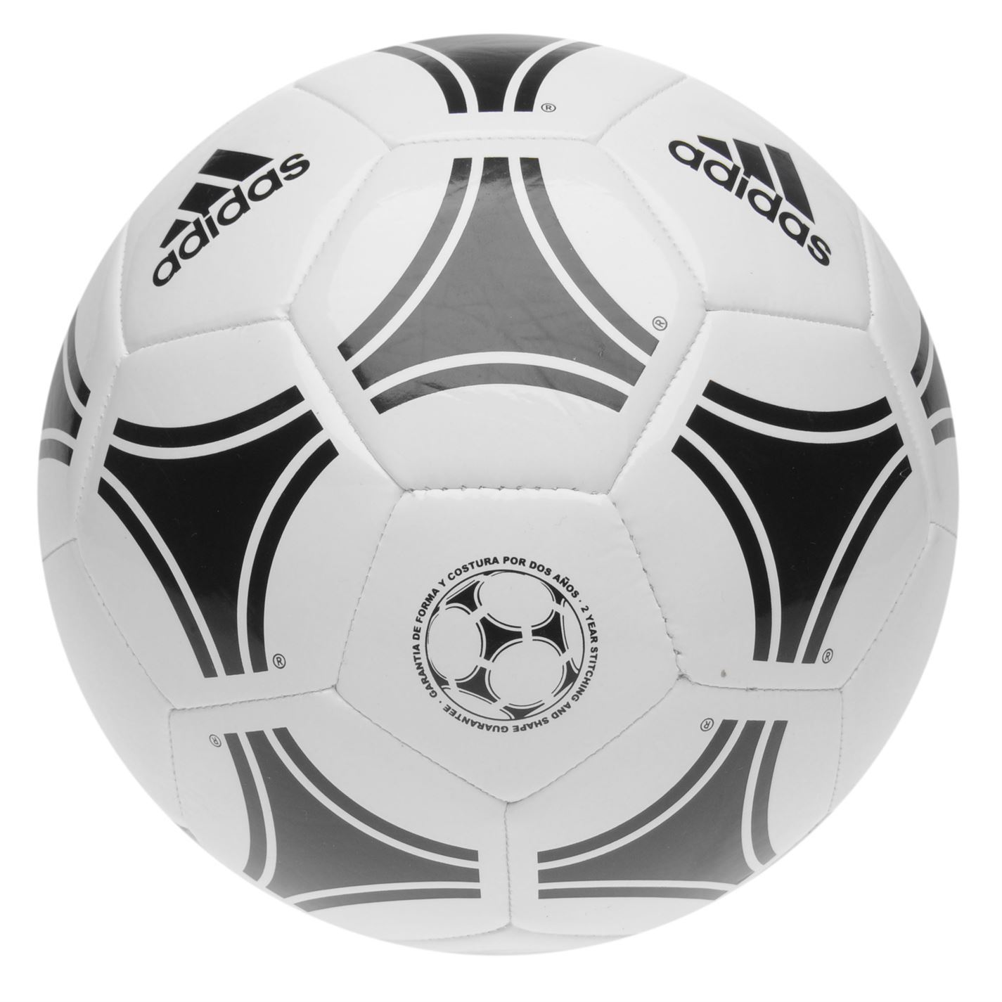 a88b1007d08 Details about adidas Tango Glider Football White Black Soccer Ball