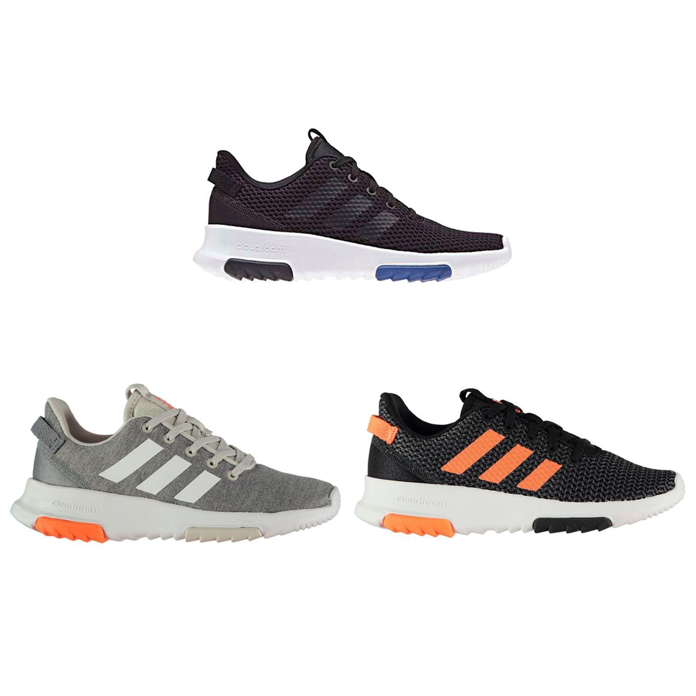 half off 2bca6 f1f6f ... Adidas CloudFoam Racer TR bambino ragazzi formatori scarpe calzature ...