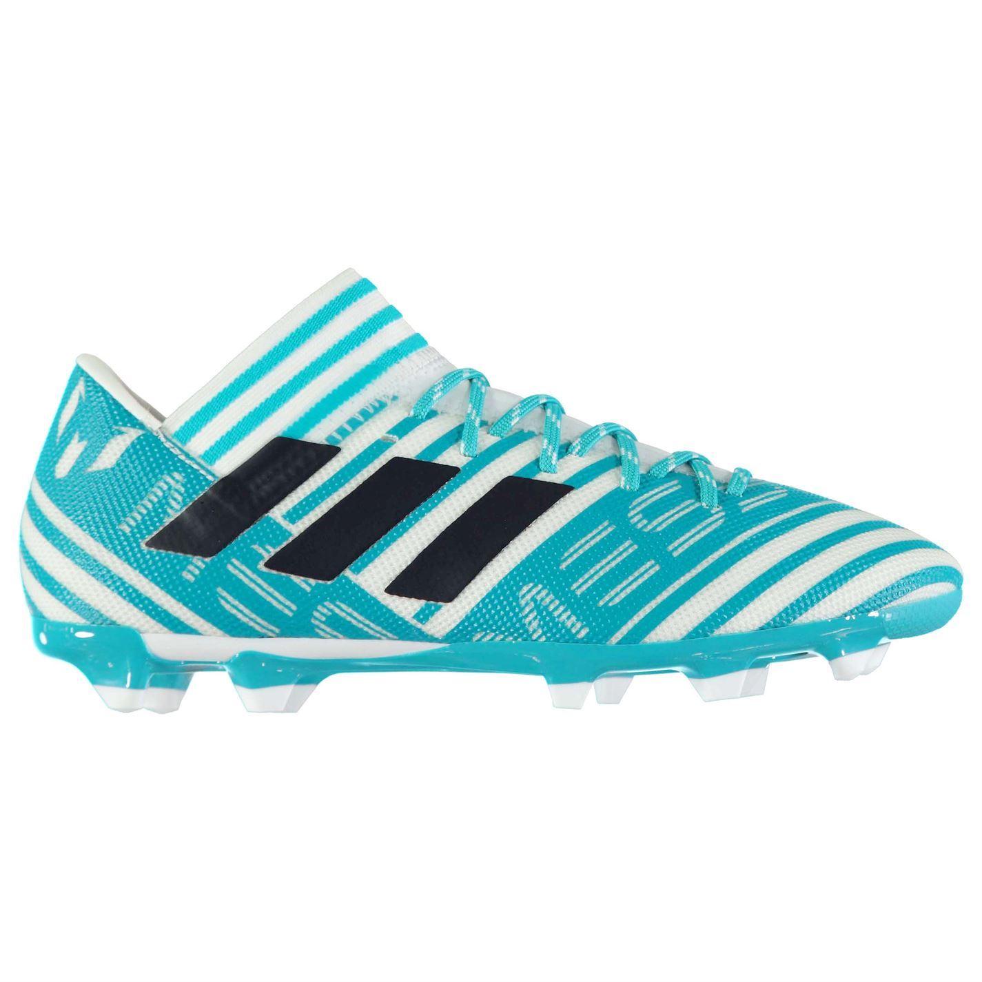 91235cb74319 ... adidas Nemeziz Messi 17.3 Firm Ground Football Boots Mens Blue Soccer  Cleats ...