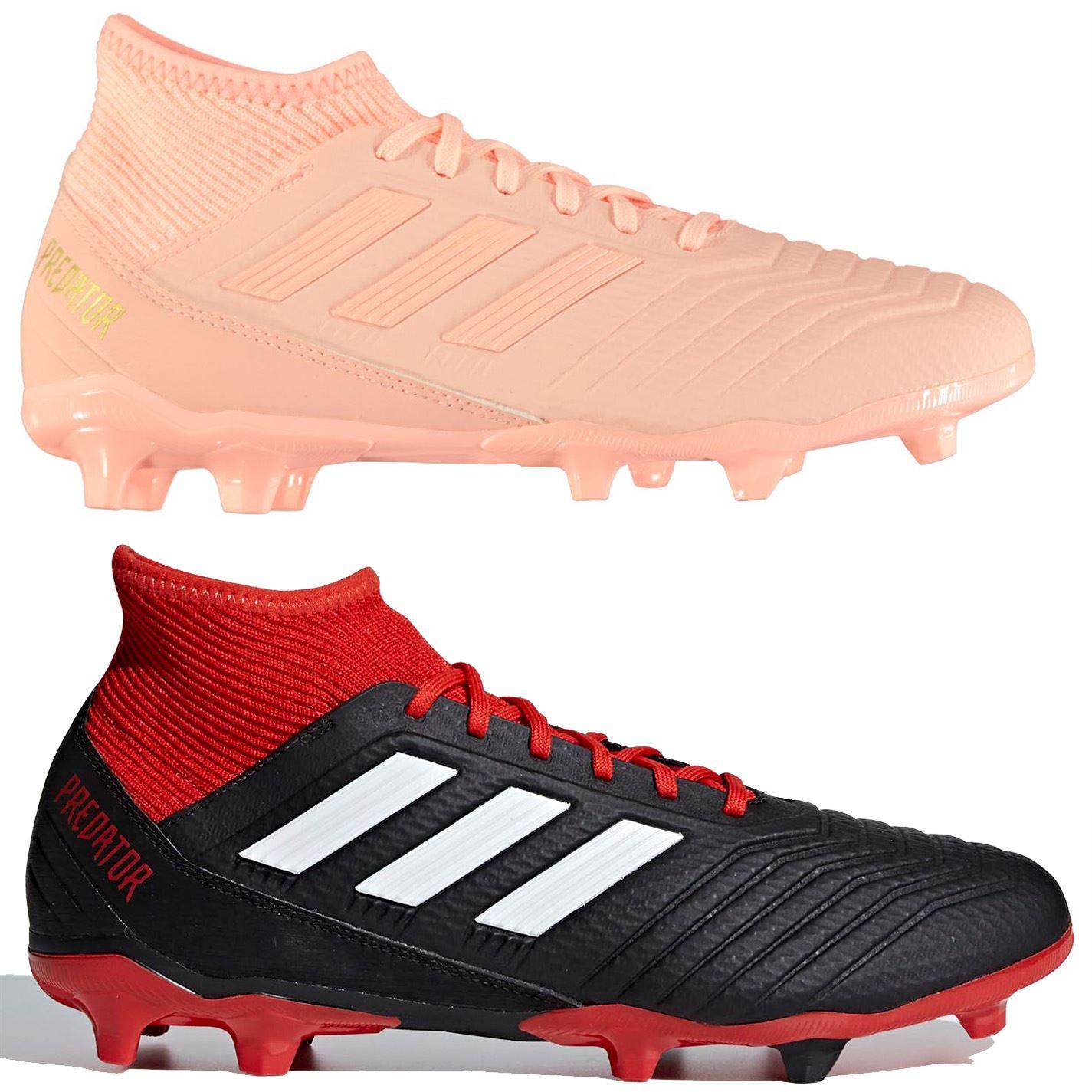 81b068b65 adidas Predator 18.3 FG Firm Ground Football Boots Mens Soccer Shoes Cleats