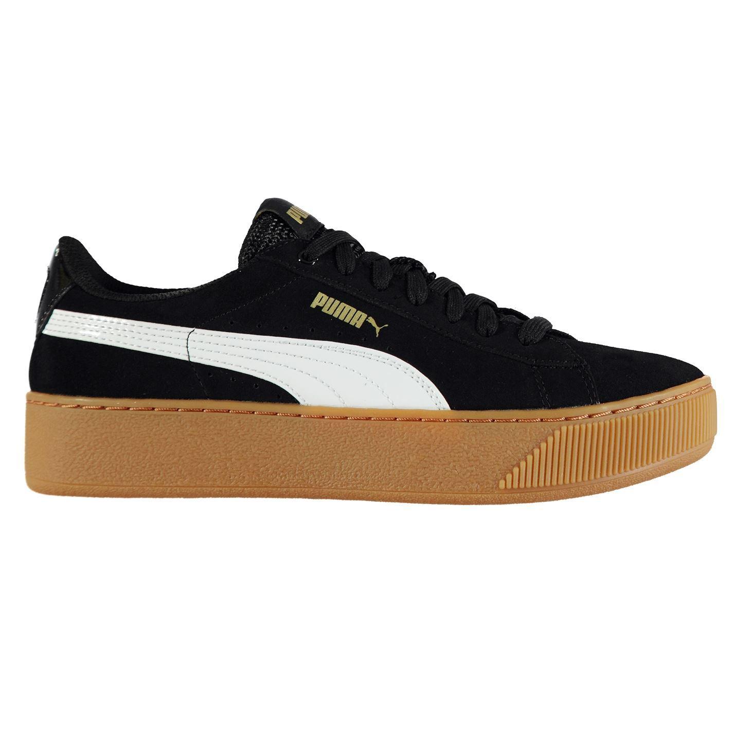 53557bd116d8f ... Vikky plataforma Puma zapatillas mujer negro zapatillas zapatillas de  deportes ...