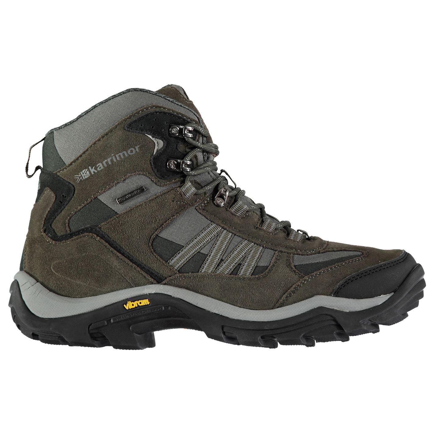 various colors factory outlets factory outlets Karrimor Aspen Mid Weathertite Waterproof Walking Boots Mens Brown ...