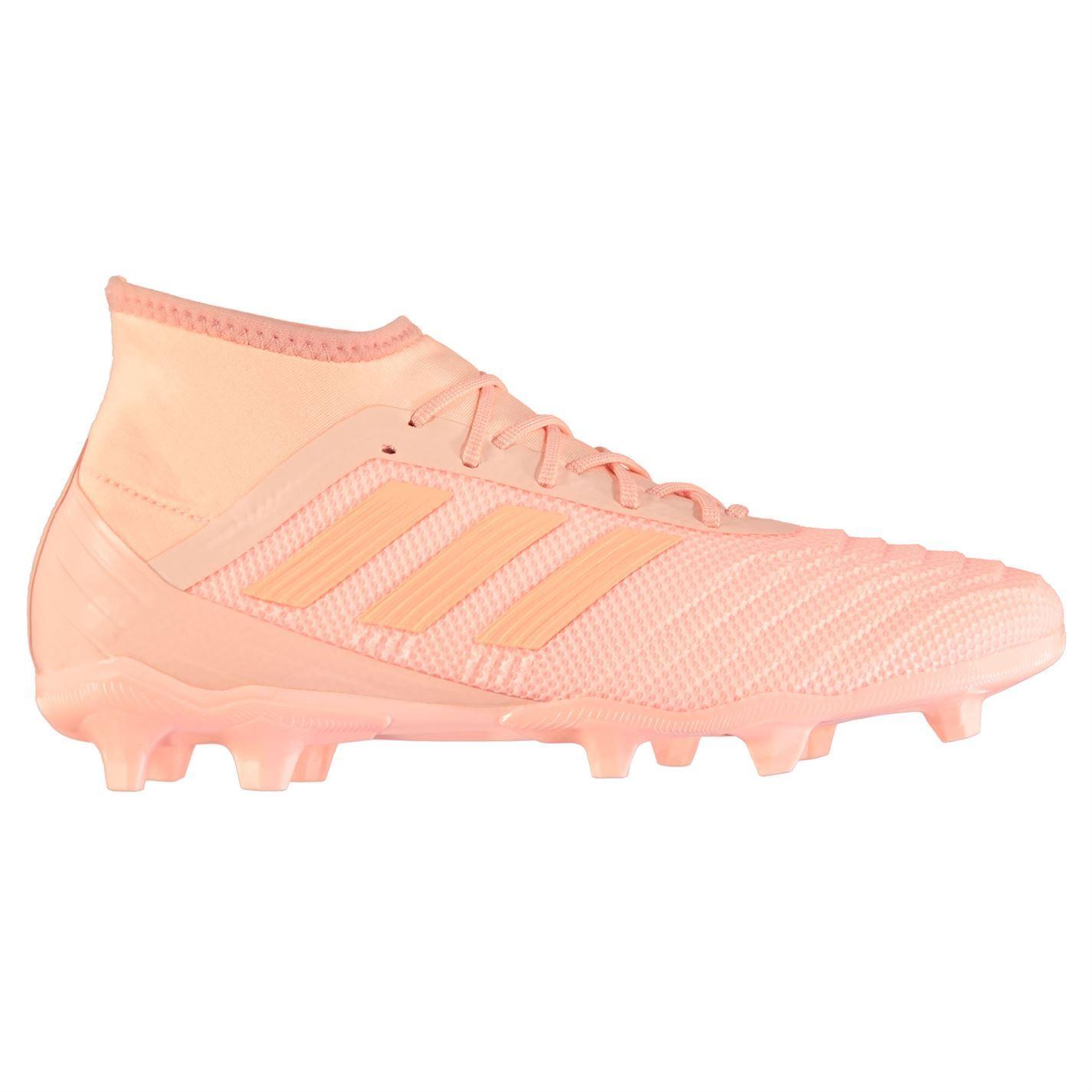 Adidas-Predator-18-2-FG-Firm-Ground-Chaussures-De-Football-Homme-Football-Chaussures-Crampons miniature 6