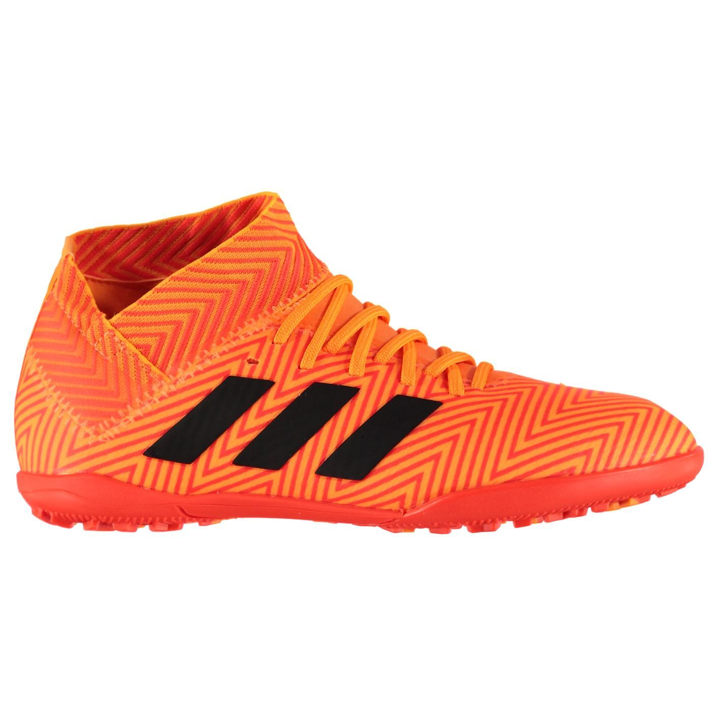 ac4c342914d52a adidas Nemeziz Tango 18.3 Astro Football Trainers Childs Orange Soccer Shoes
