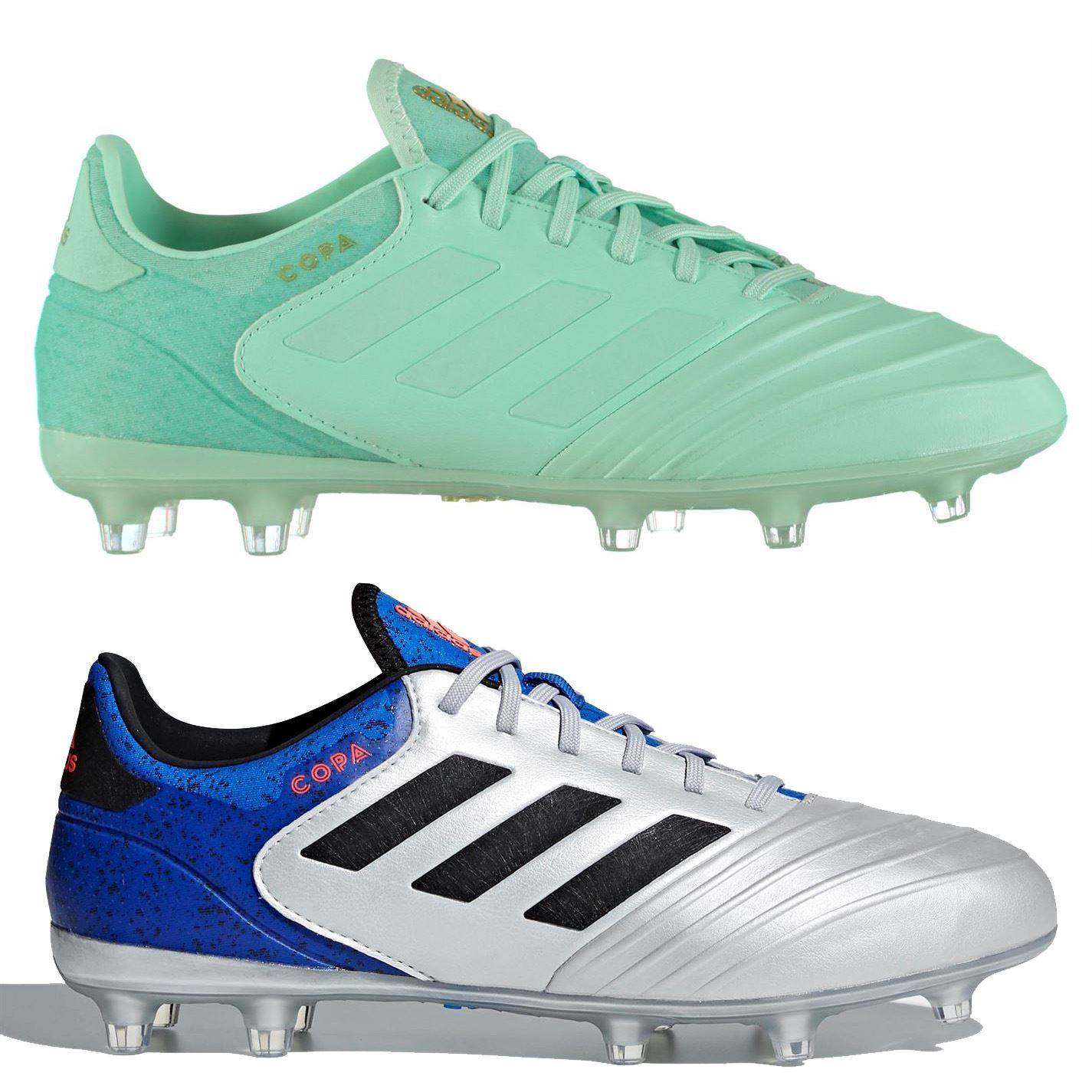 c4b049a85 adidas Copa 18.2 FG Firm Ground Football Boots Mens Soccer Shoes Cleats