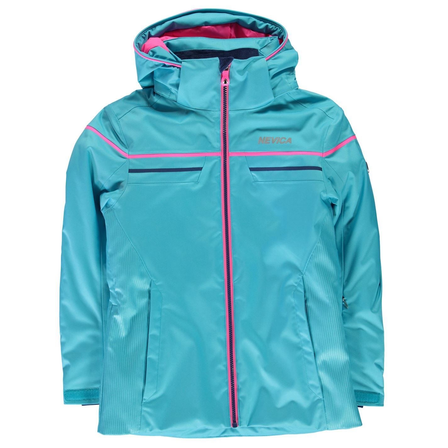 ... Nevica Vail Ski Jacket Junior Girls Aqua Snow Coat Tops Outerwear ... 878ed834988