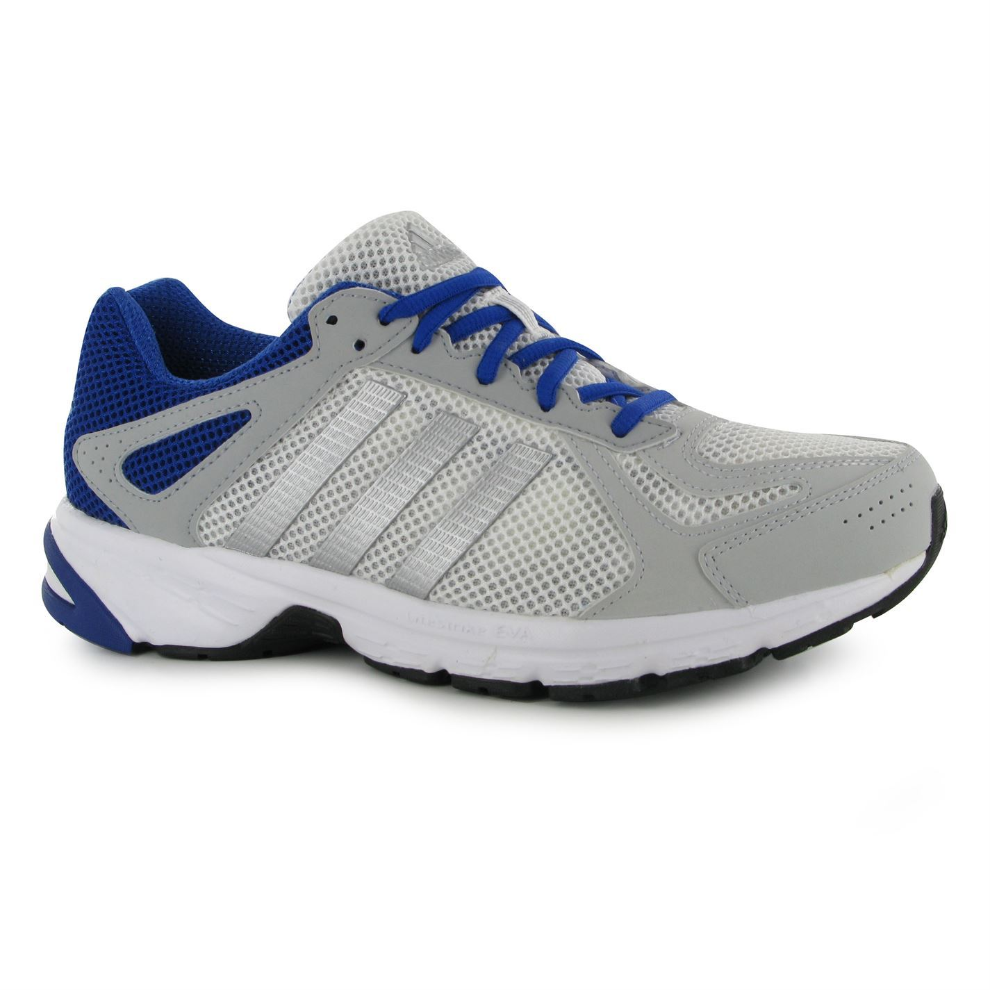 adidas running shoes for men. adidas duramo 55 running shoes mens white/silver/blue fitness trainers sneakers for men