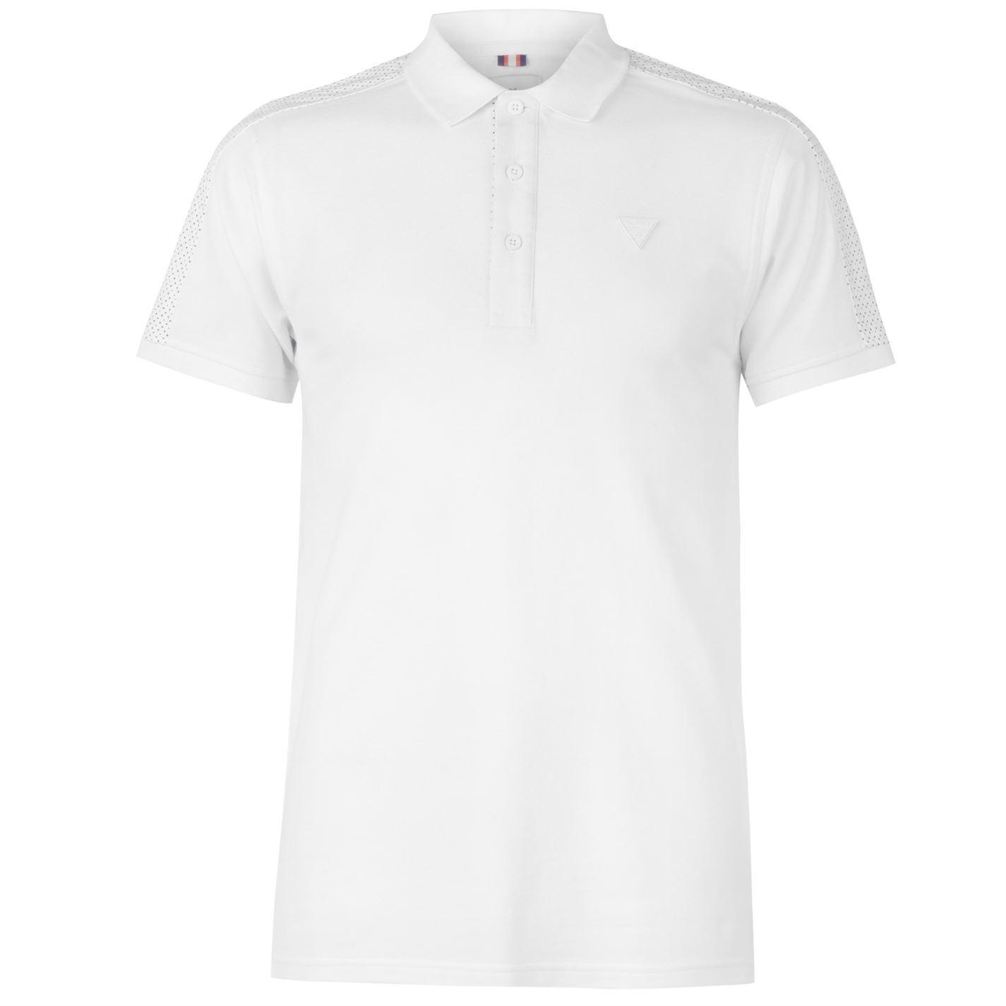 Soviet Paisley Collar Polo Shirt Mens Collared Top Tee Navy X-Small