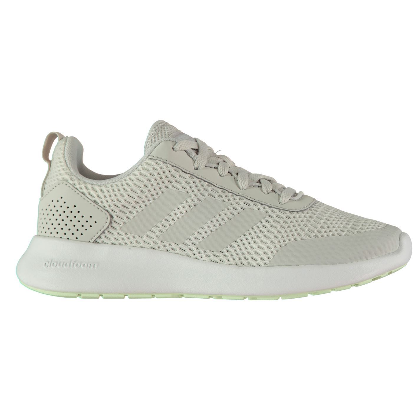 newest 9ac27 63162 ... adidas Cloudfoam Element Race Running Shoes Womens White Run Trainers  Sneakers ...