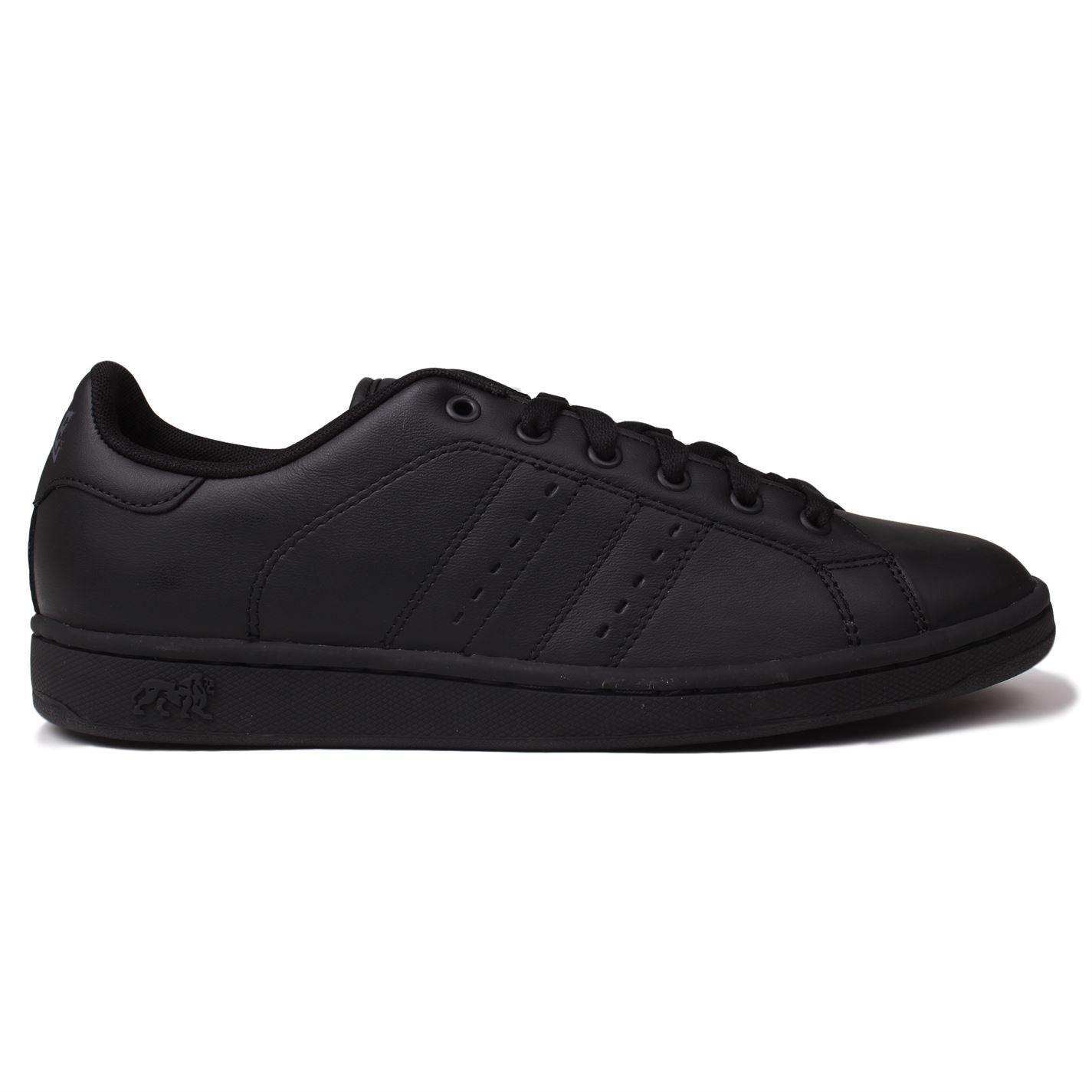 Hommes Chaussures Baskets Cuir Leyton Décontracté Lonsdale RHxtTY