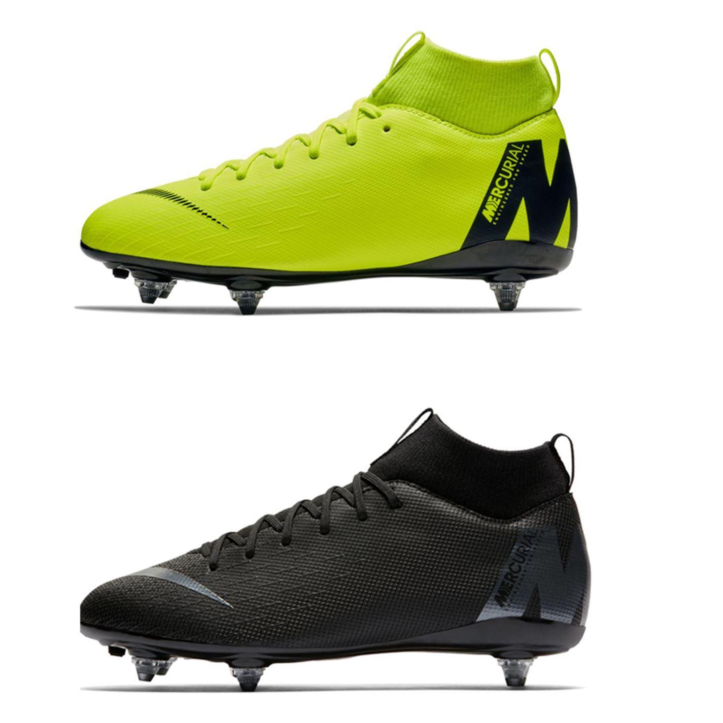 e6371073f4aff ... Botas de Nike Mercurial Superfly Academia tierra suave futbol Juniors  Futbol tacos ...