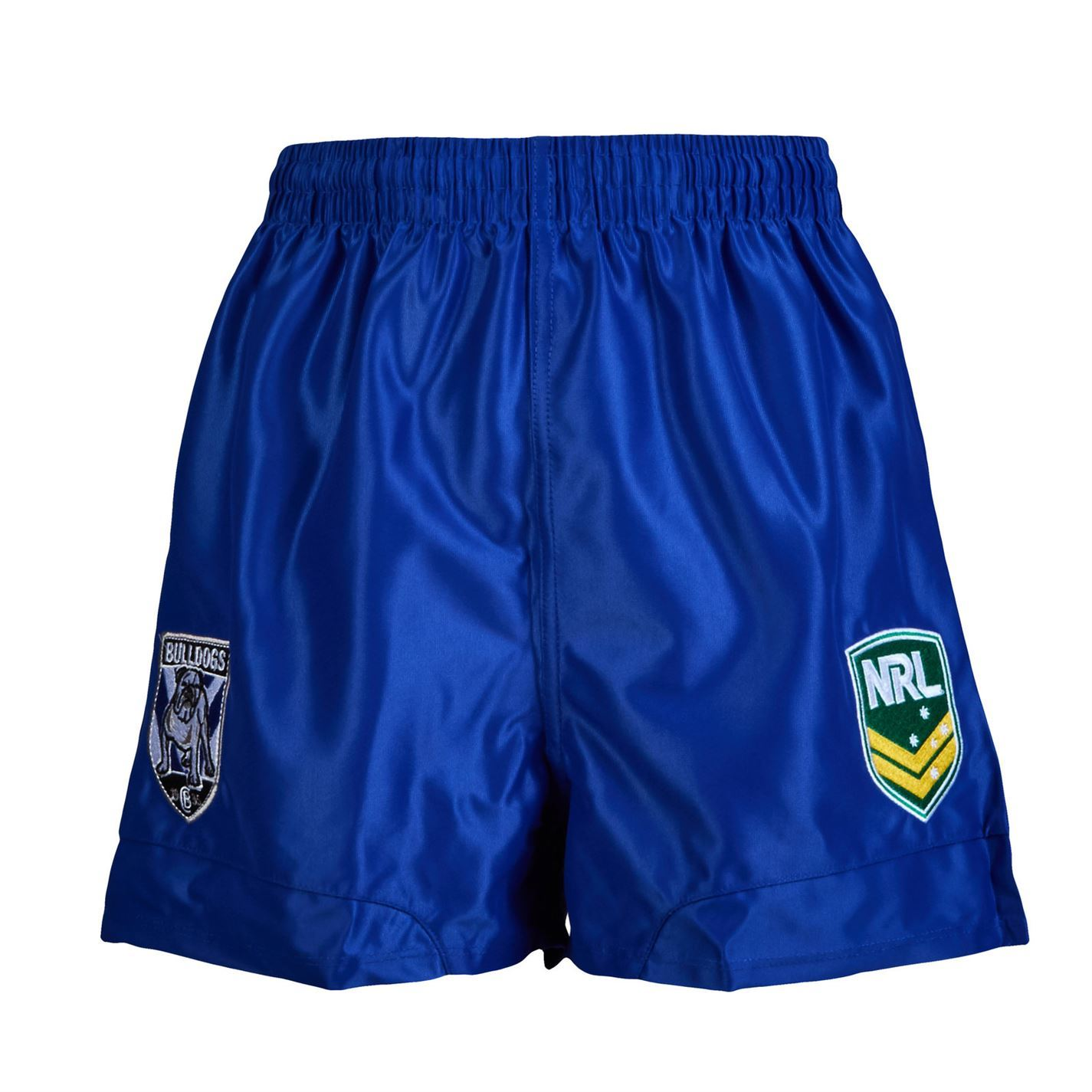 NRL-Supporter-Shorts-Juniors-Rugby-League-Storm-Bulldog-Sea-Eagles-Eels-Roosters thumbnail 3