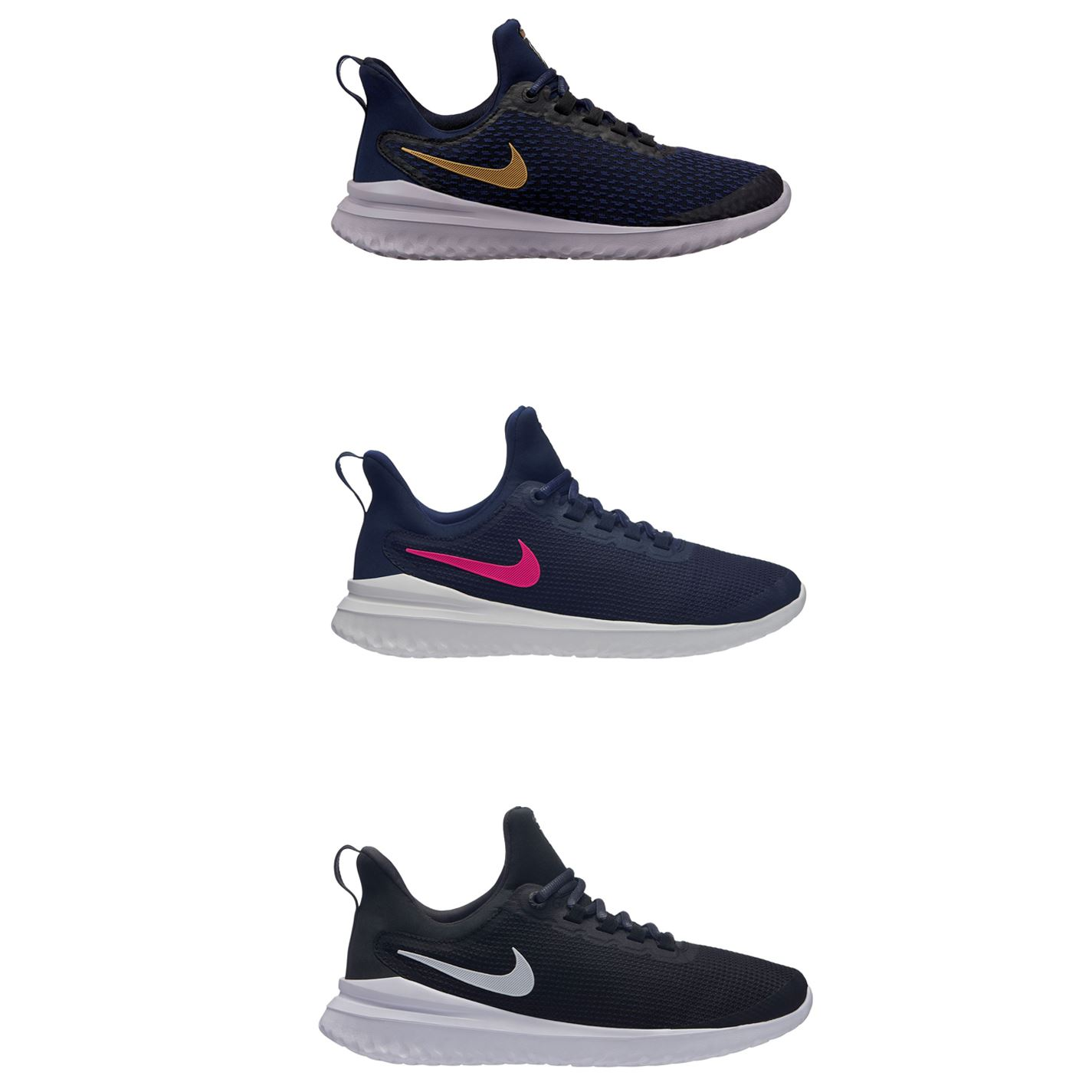 color atractivo mejores telas bonito diseño Nike Renew Rival Running Shoes Womens Jogging Trainers Sneakers Fitness |  eBay