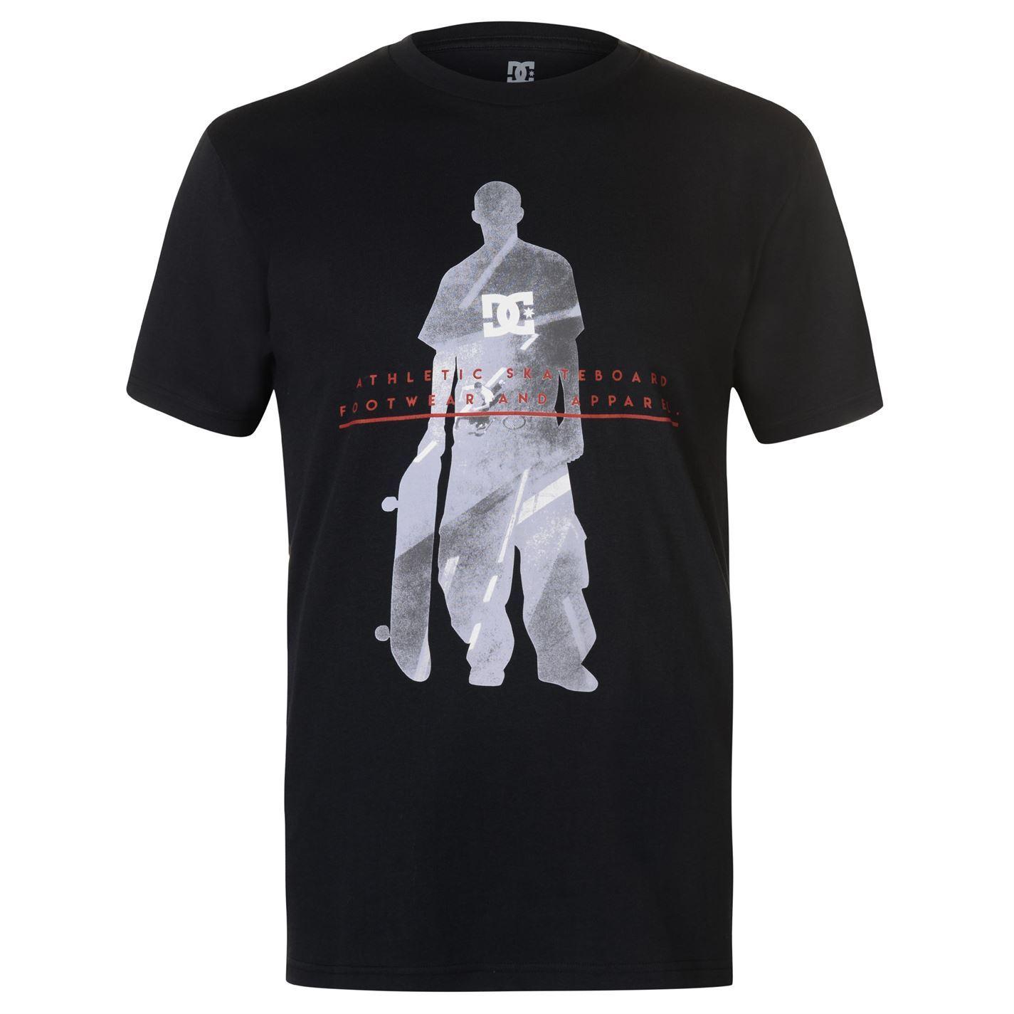 DC-Shoe-Co-USA-Shadow-T-Shirt-Mens-Tee-Shirt-Top thumbnail 3