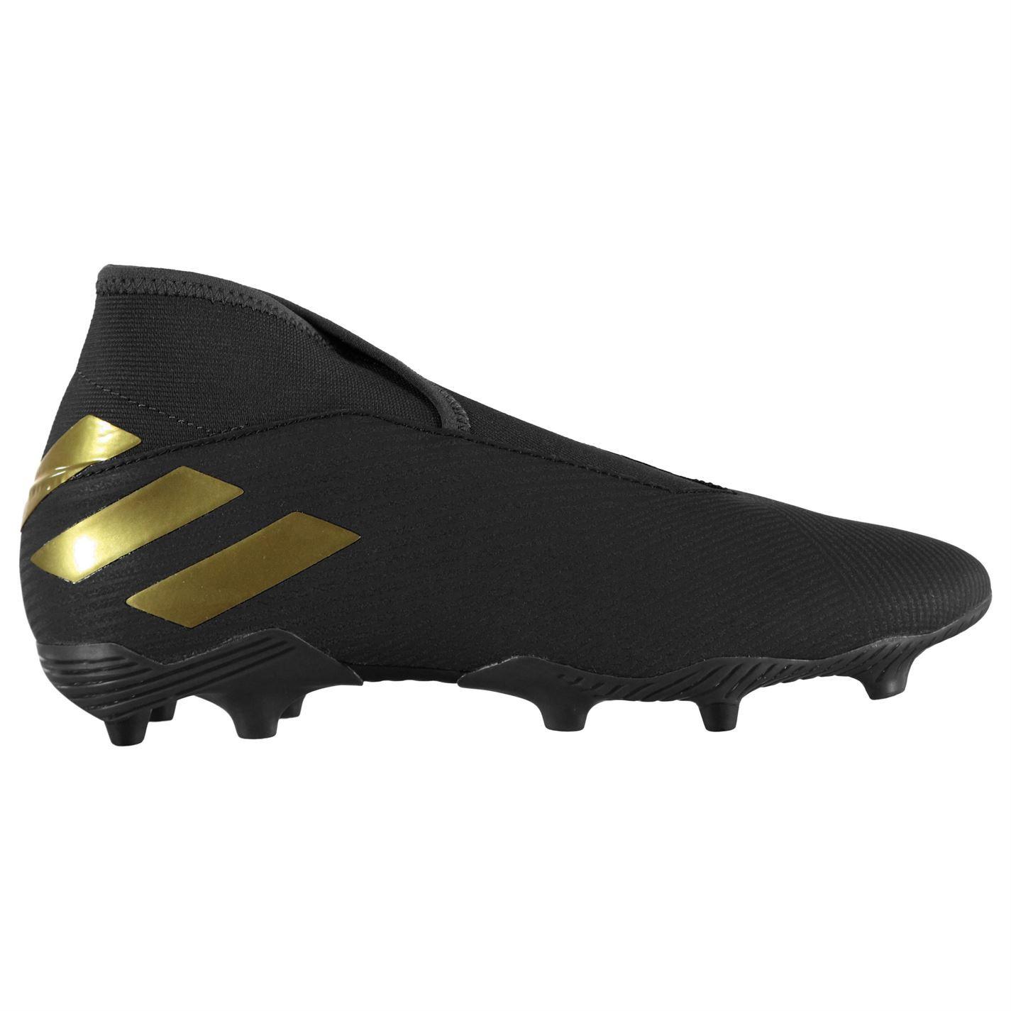 Détails sur Adidas Nemeziz 19.3 Laceless Sol Ferme Football Bottes Hommes Cale Chaussures