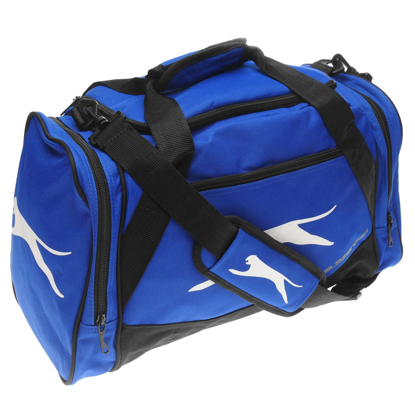 4dcffa6cca Details about Slazenger Small Sports Holdall Royal Gym Kit Bag Carryall